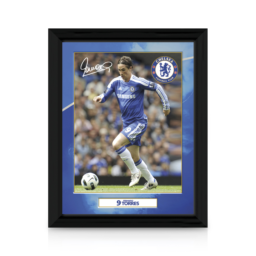 Chelsea Chelsea 2011/12 Torres Framed Print - 12 x 16