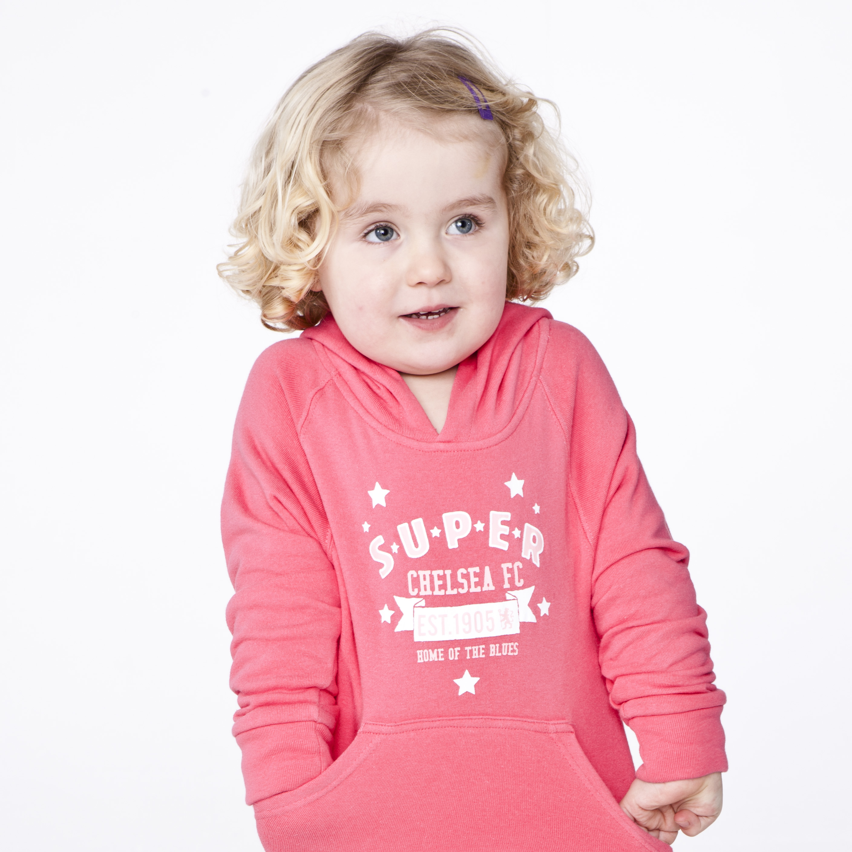 Chelsea Super Est 1905 Sweatshirts - Blush Pink - Infant Girls
