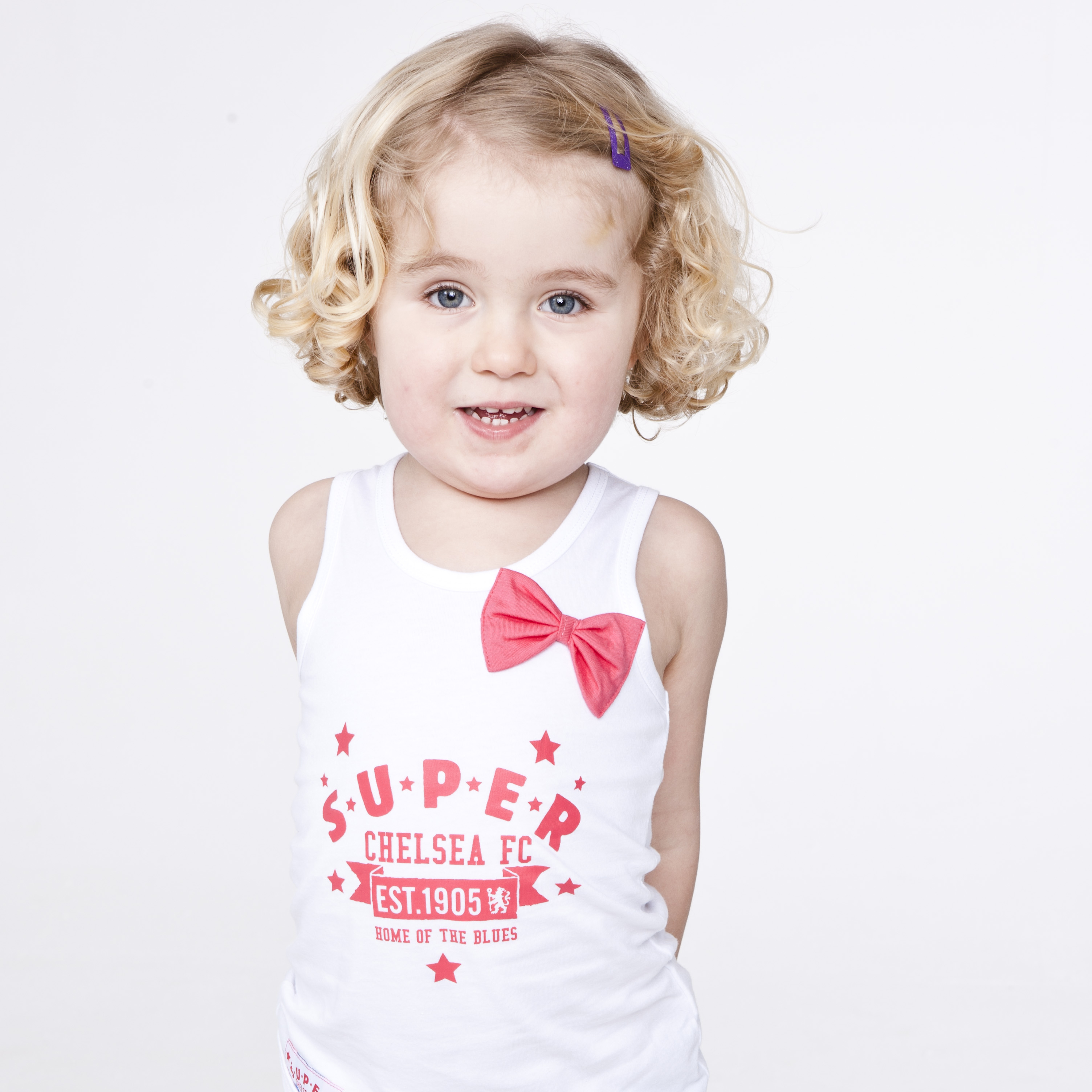 Chelsea Super Est 1905 Vest - White - Infant Girls