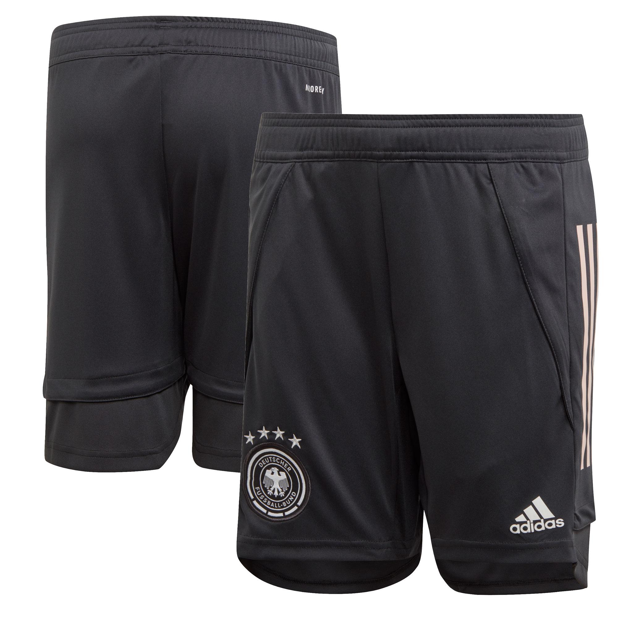Germany Training Shorts - Dk Grey - Kids