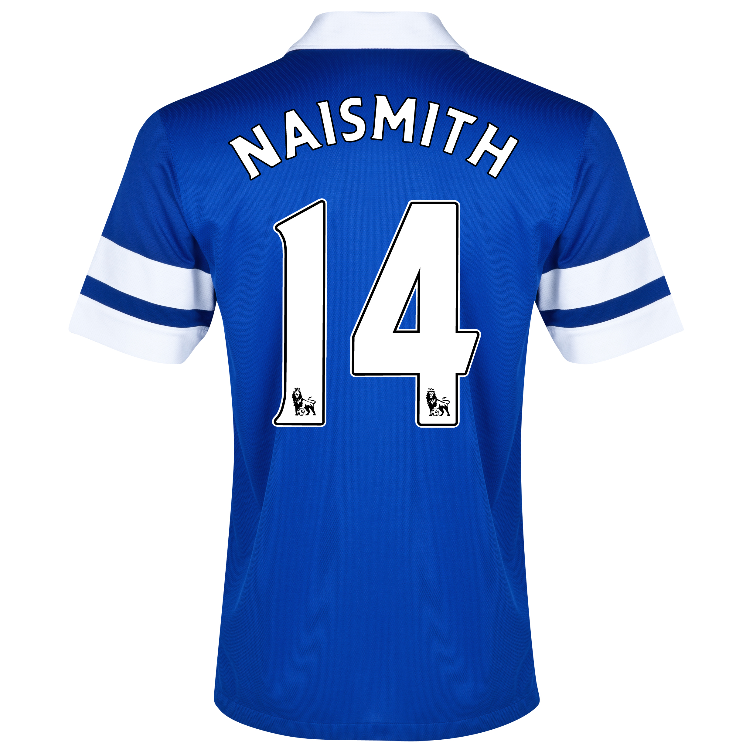 Everton Home Shirt 2013/14 Blue with Naismith 14 printing
