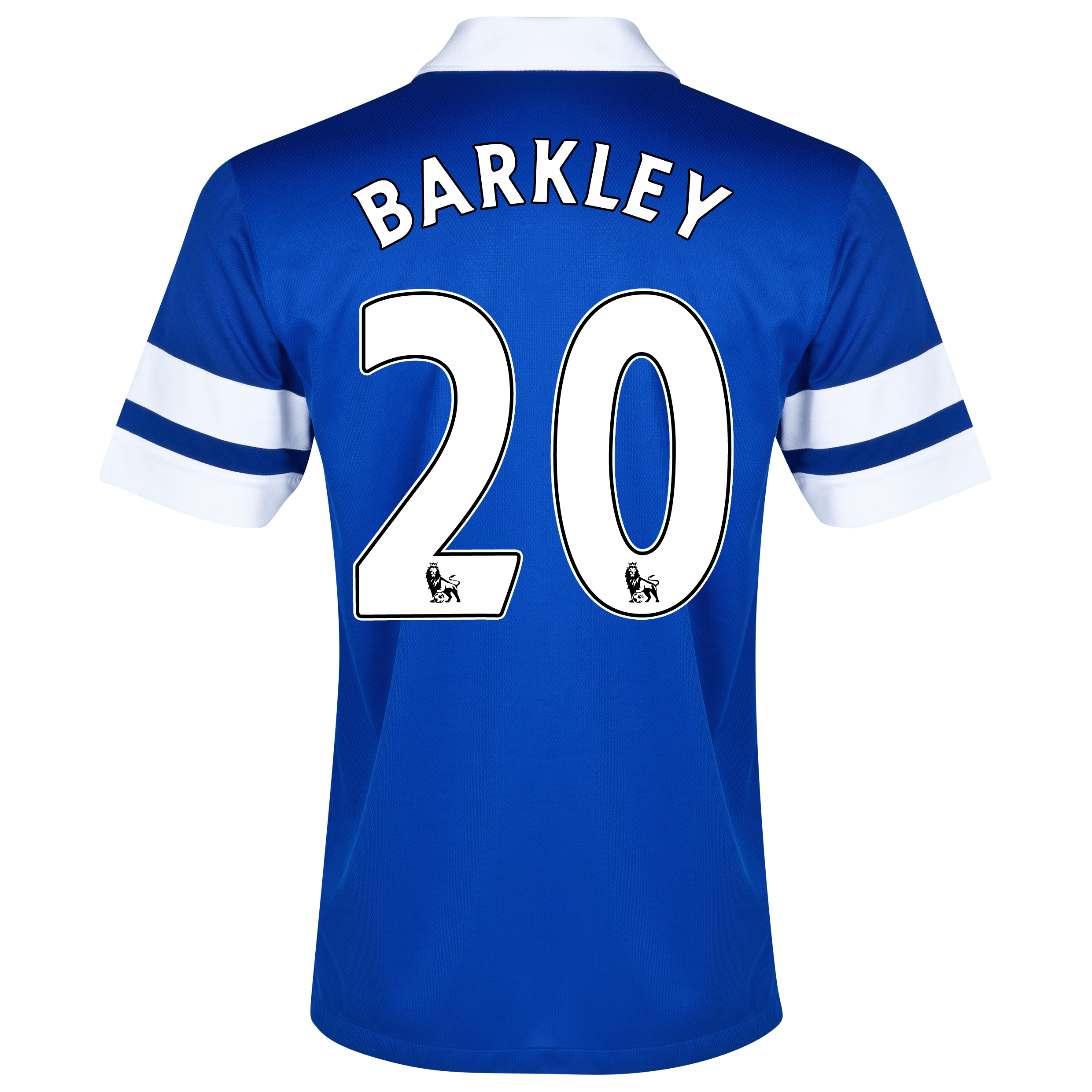 Everton Home Shirt 2013/14 Blue with Barkley 20 printing