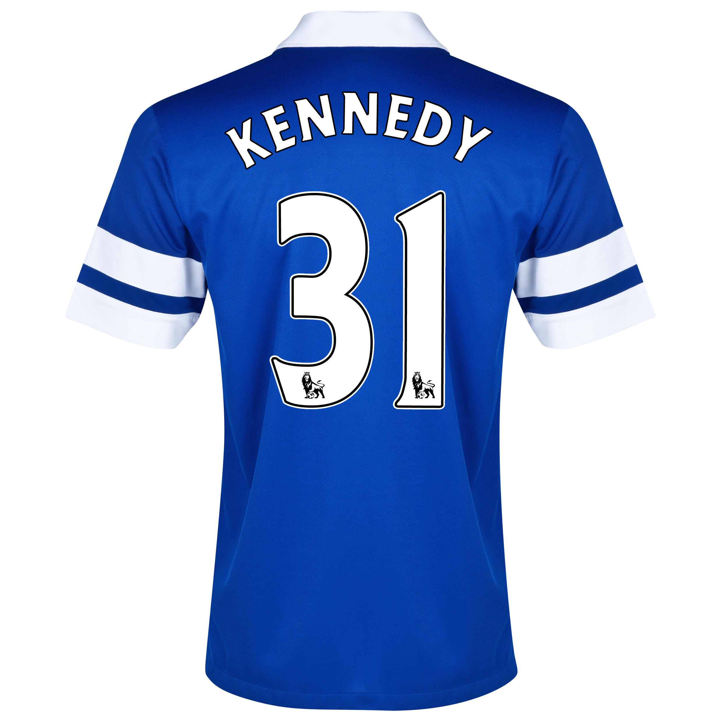 Everton Home Shirt 2013/14 Blue with Kennedy 31 printing
