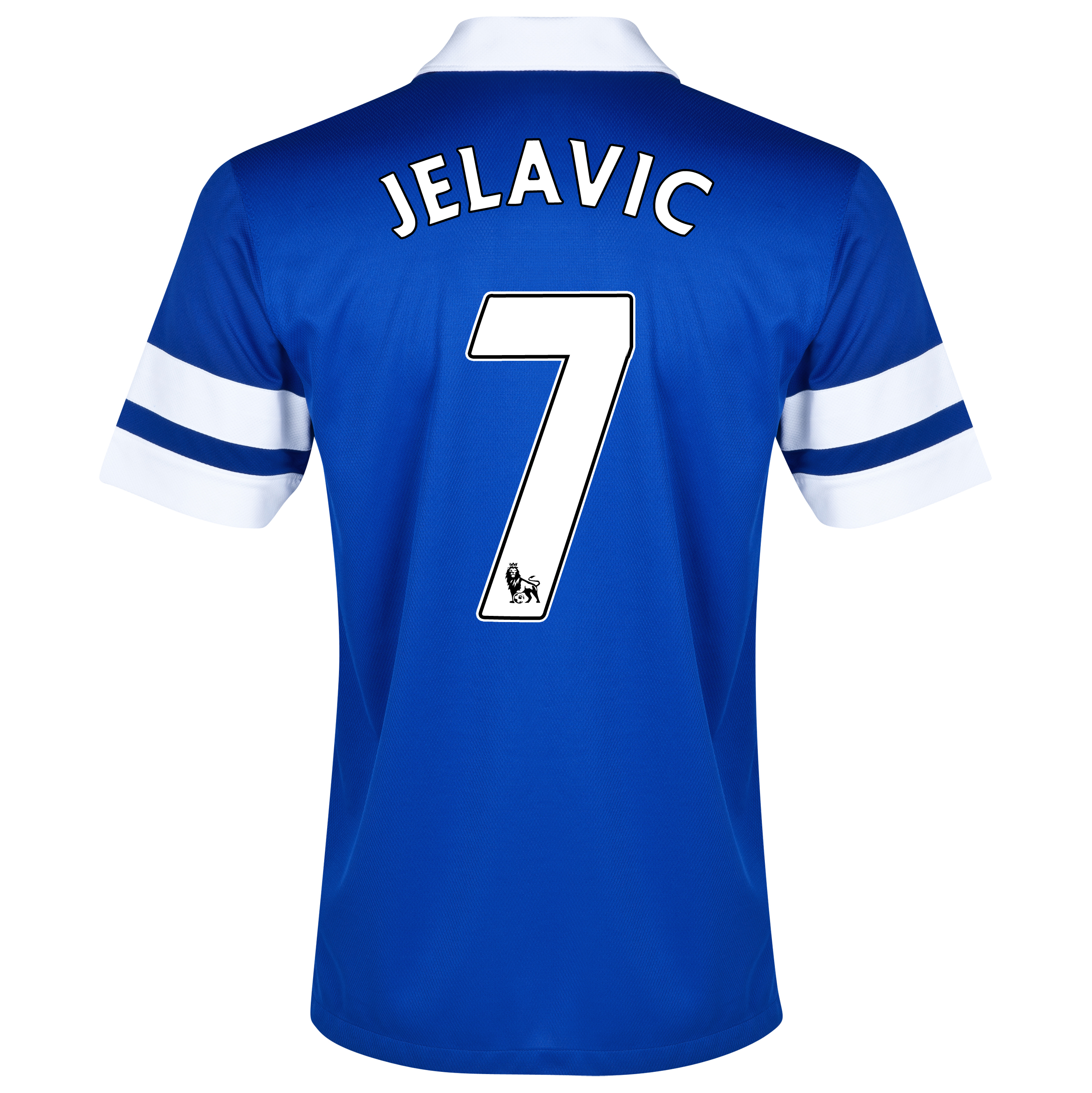 Everton Home Shirt 2013/14 - Junior Blue with Jelavic 7 printing
