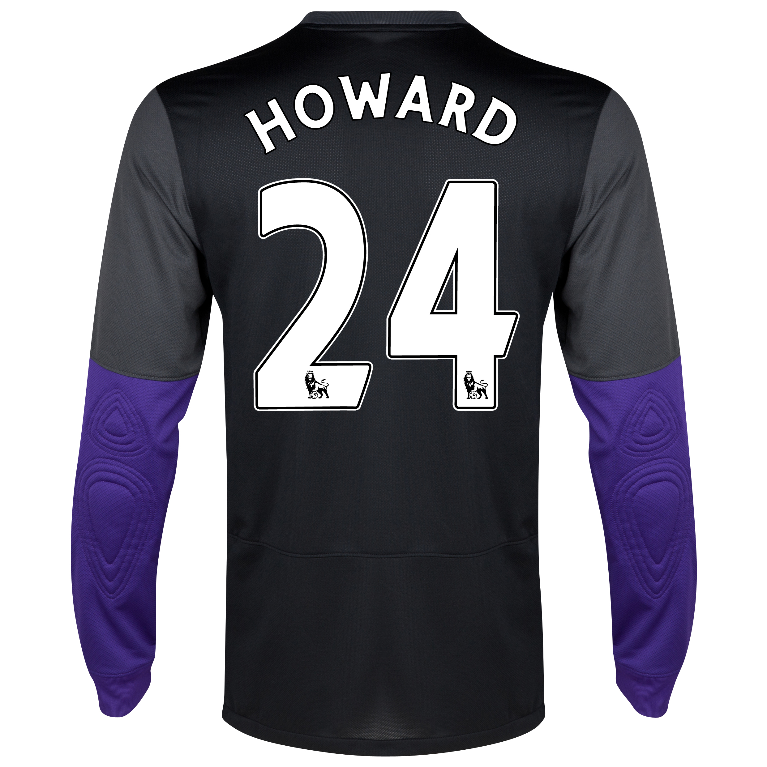 Everton Home Goalkeeper Shirt 2013/14 with Howard 24 printing