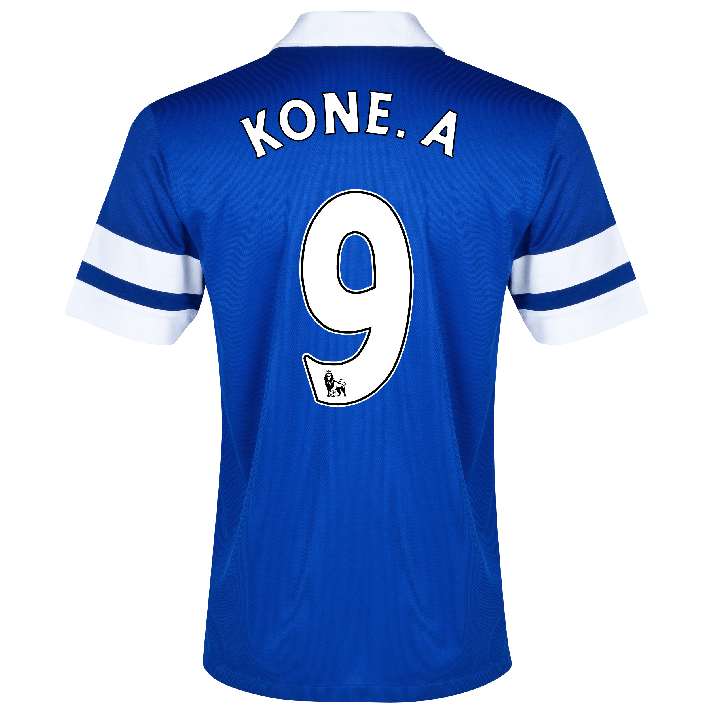 Everton Home Shirt 2013/14 Blue with Kone.A 9 printing
