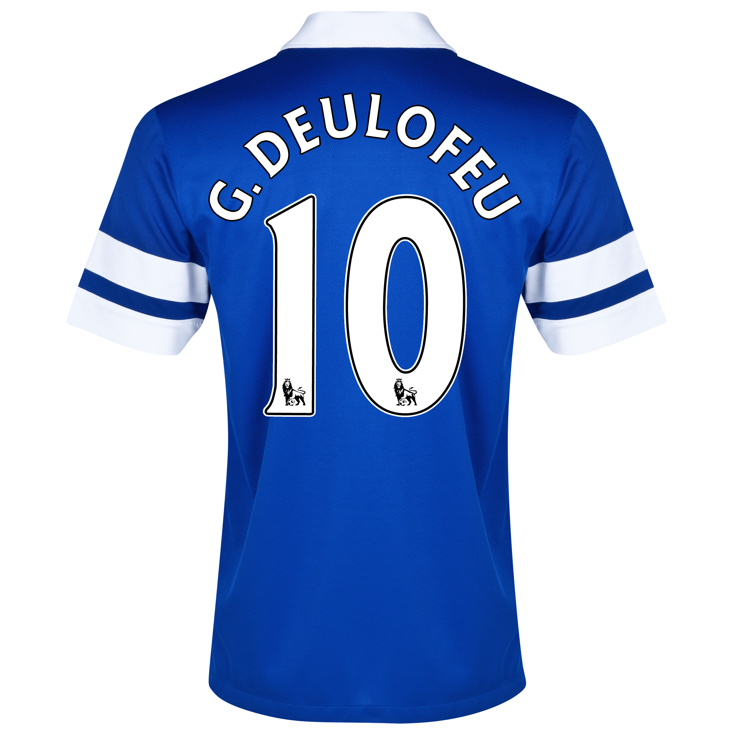 Everton Home Shirt 2013/14 Blue with G.Deulofeu 10 printing