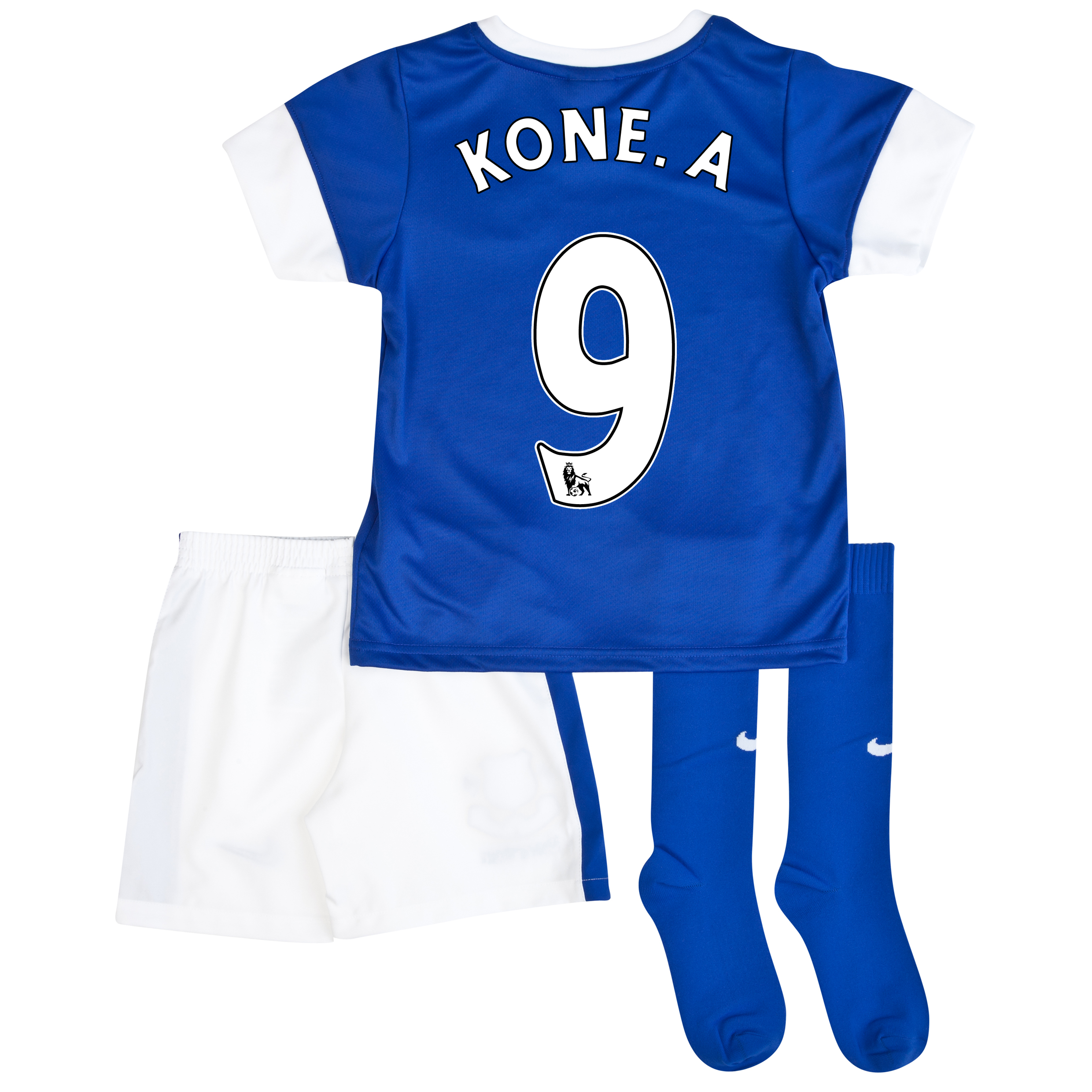 Everton Home Infant Kit 2013/14 Blue with Kone.A 9 printing
