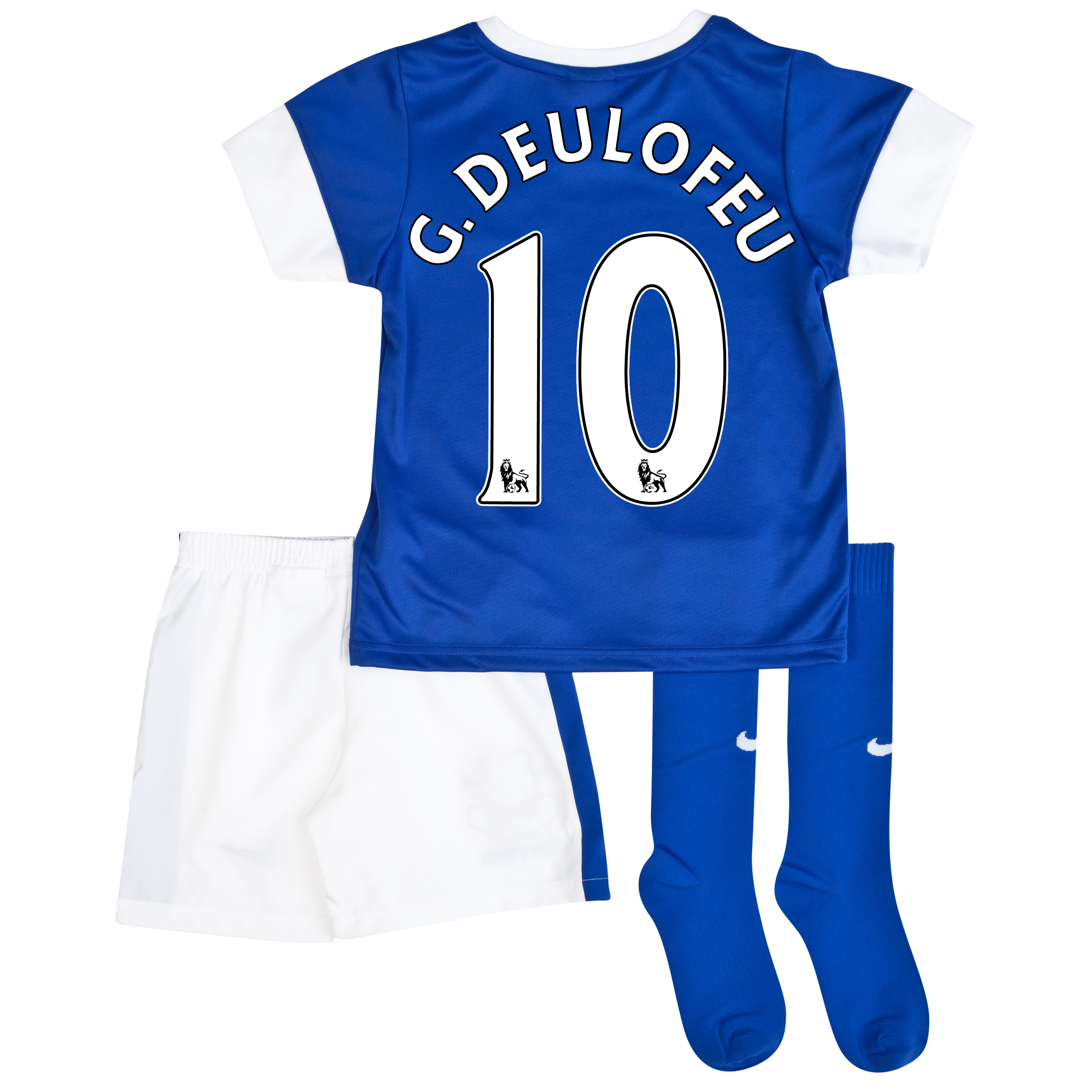 Everton Home Infant Kit 2013/14 Blue with G.Deulofeu 10 printing