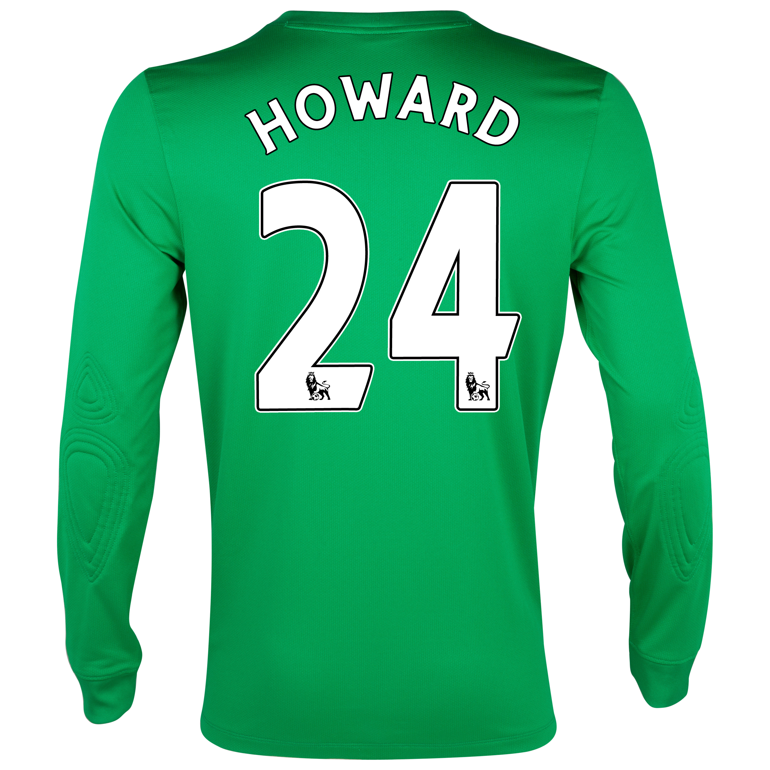 Everton Away Goalkeeper Shirt 2013/14 with Howard 24 printing