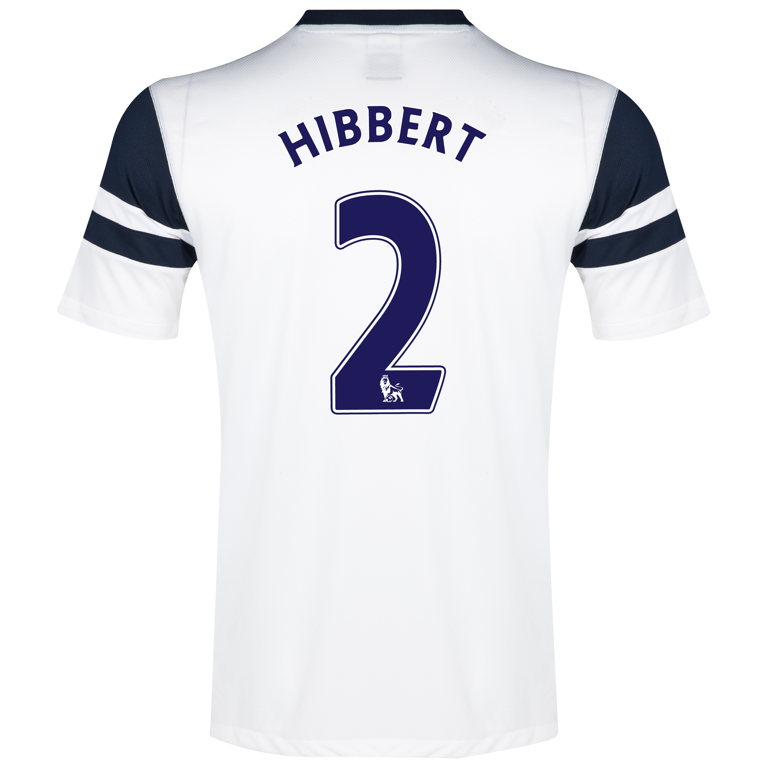 Everton 3rd Shirt 2013/14 White with Hibbert 2 printing