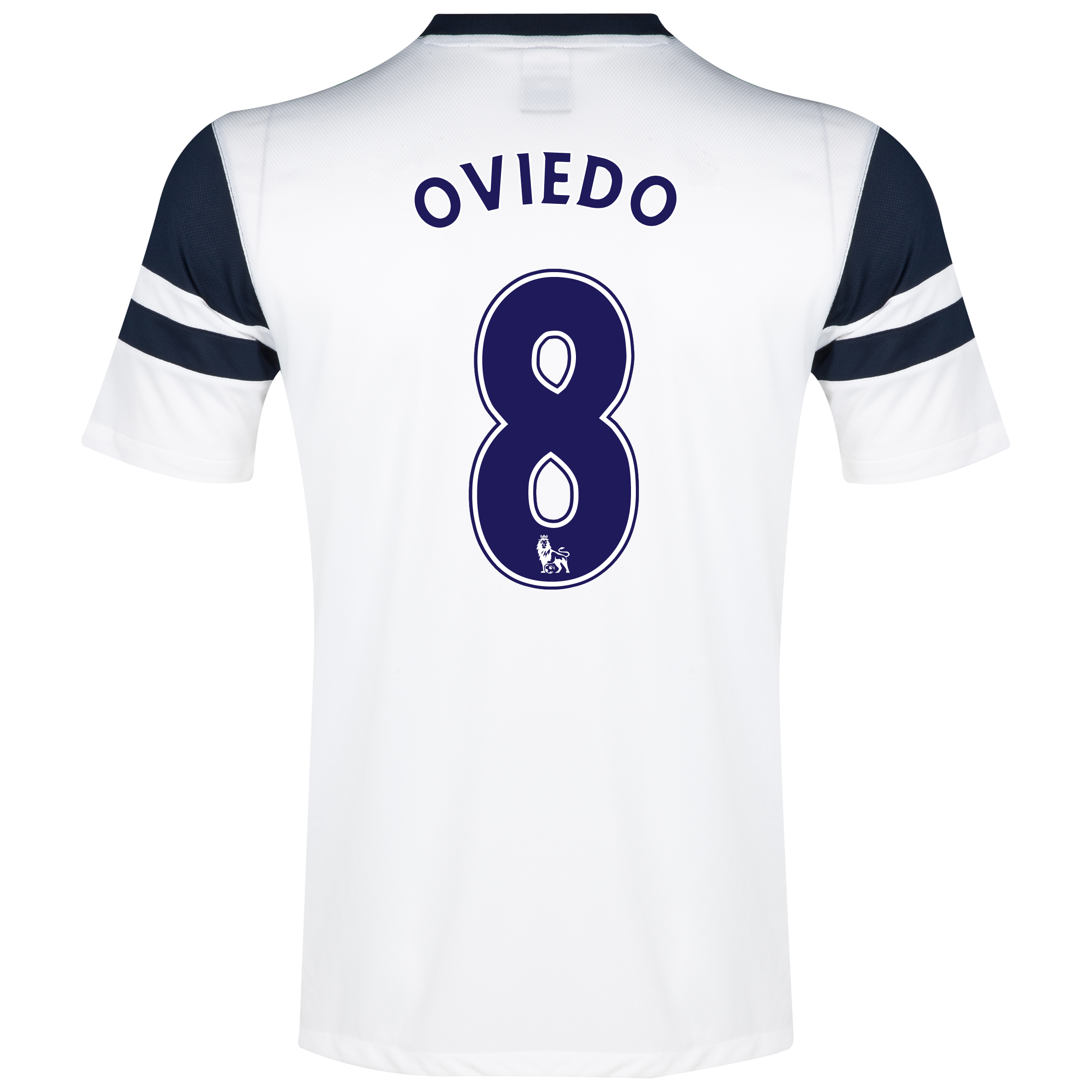Everton 3rd Shirt 2013/14 White with Oviedo 8 printing