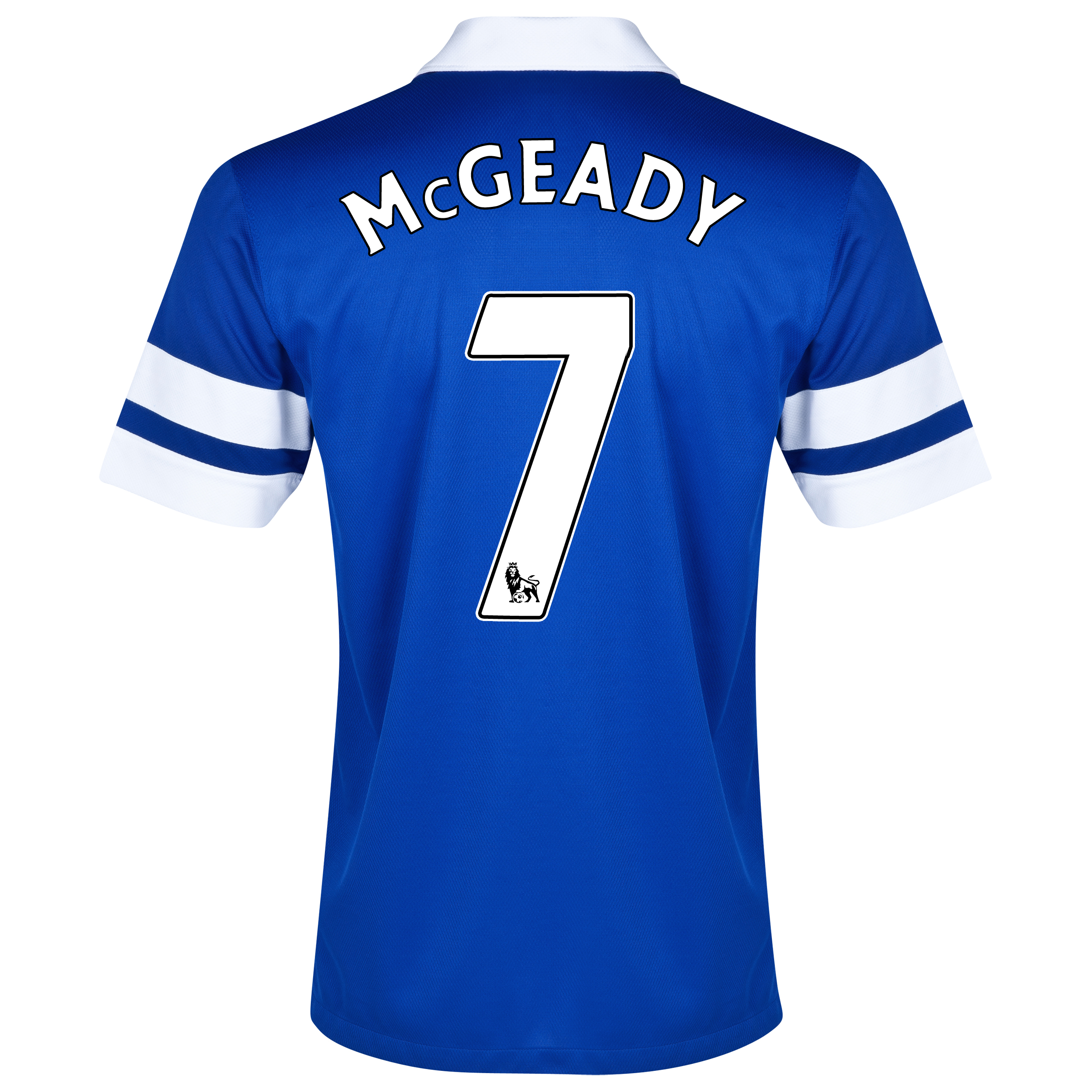 Everton Home Shirt 2013/14 Blue with McGeady 7 printing