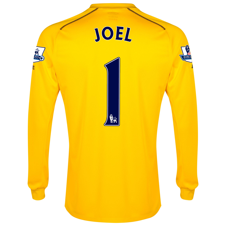 Everton GK Home Shirt 2014/15 with Joel 1 printing