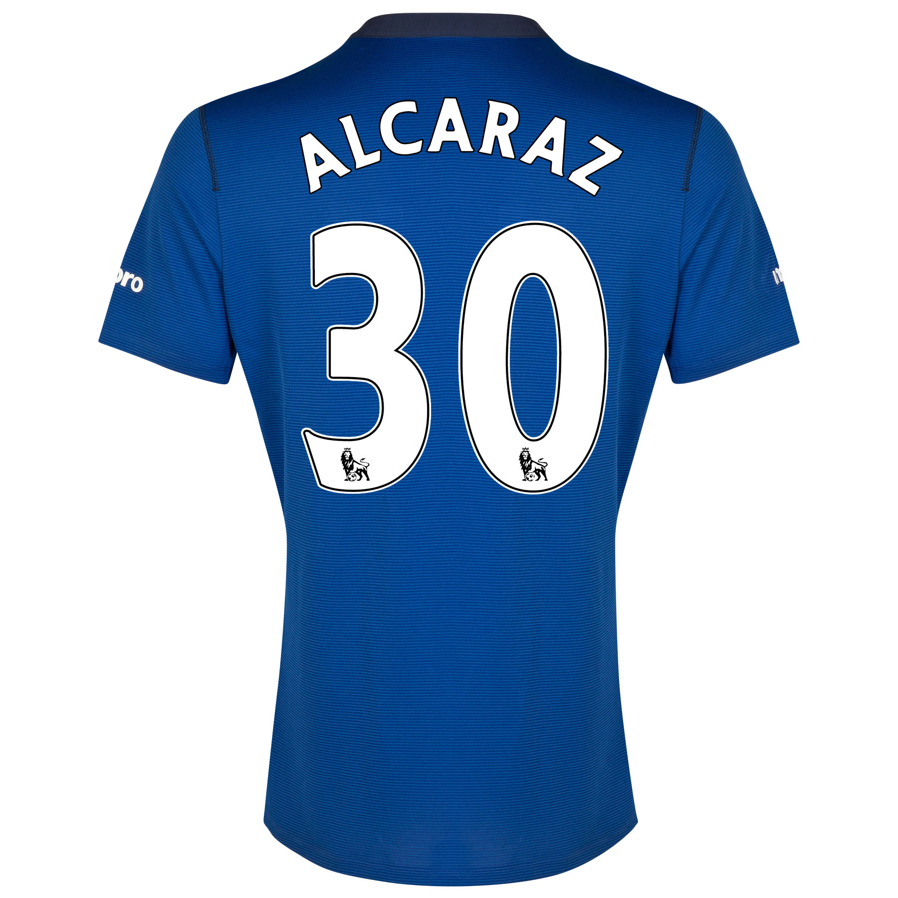 Everton SS Home Shirt 2014/15 with Alcaraz 32 printing