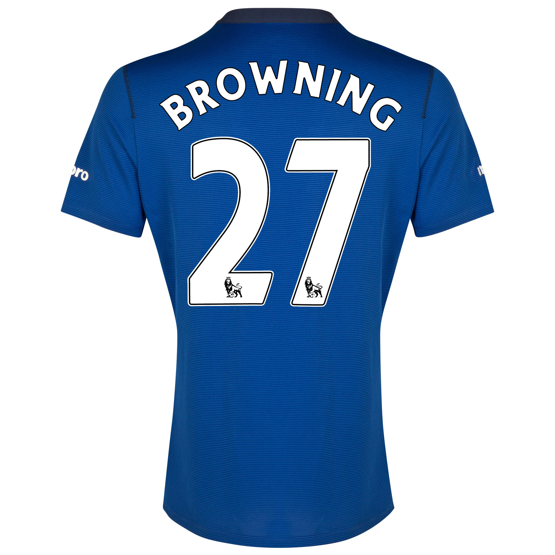 Everton SS Home Shirt 2014/15 with Browning 36 printing