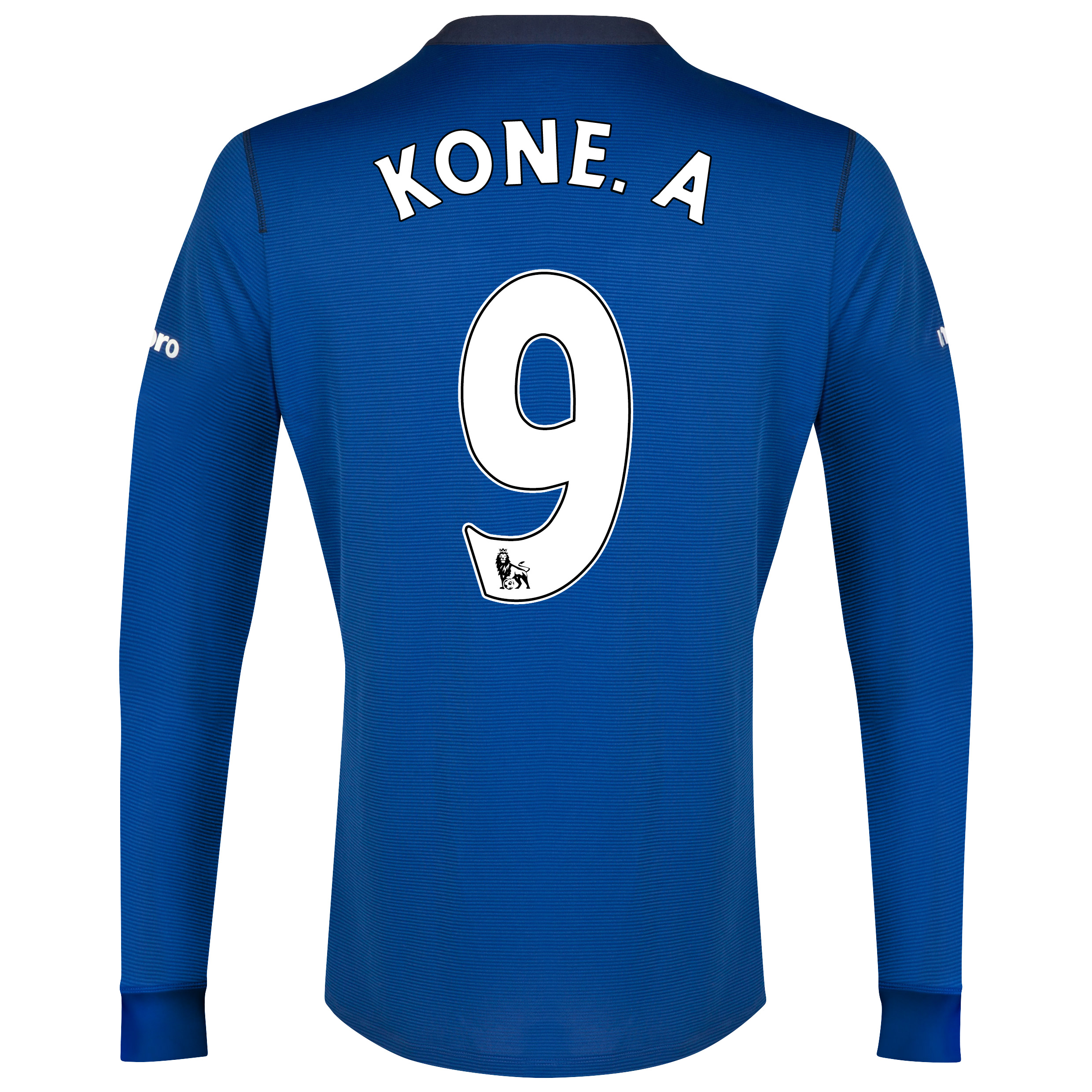 Everton LS Home Shirt 2014/15 with Kone.A 9 printing