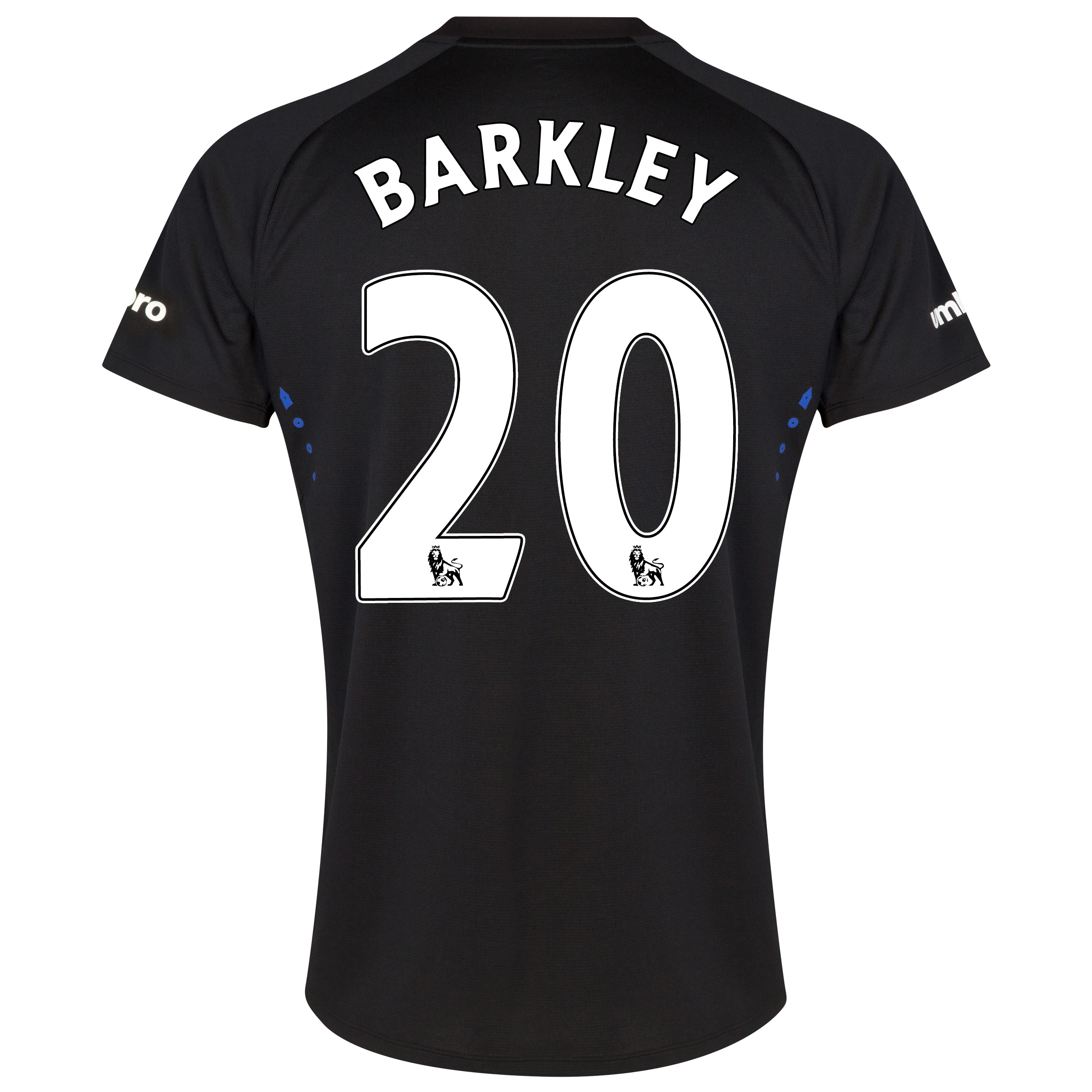 Everton SS Away Shirt 2014/15 with Barkley 20 printing