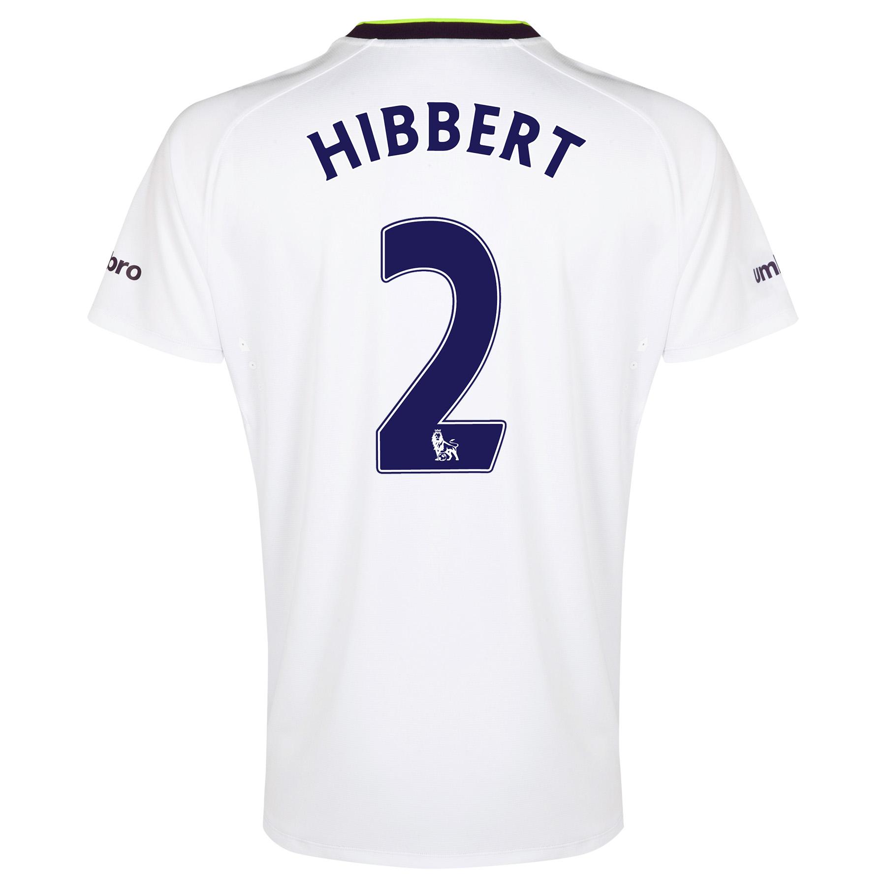 Everton SS 3rd Shirt  2014/15 with Hibbert 2 printing