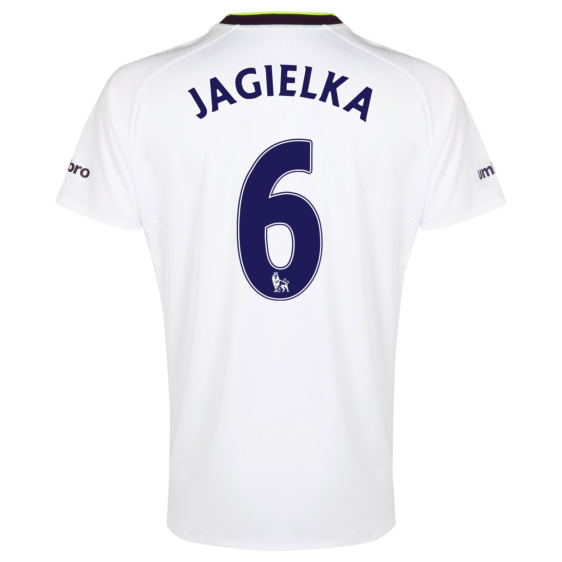 Everton SS 3rd Shirt  2014/15 with Jagielka 6 printing