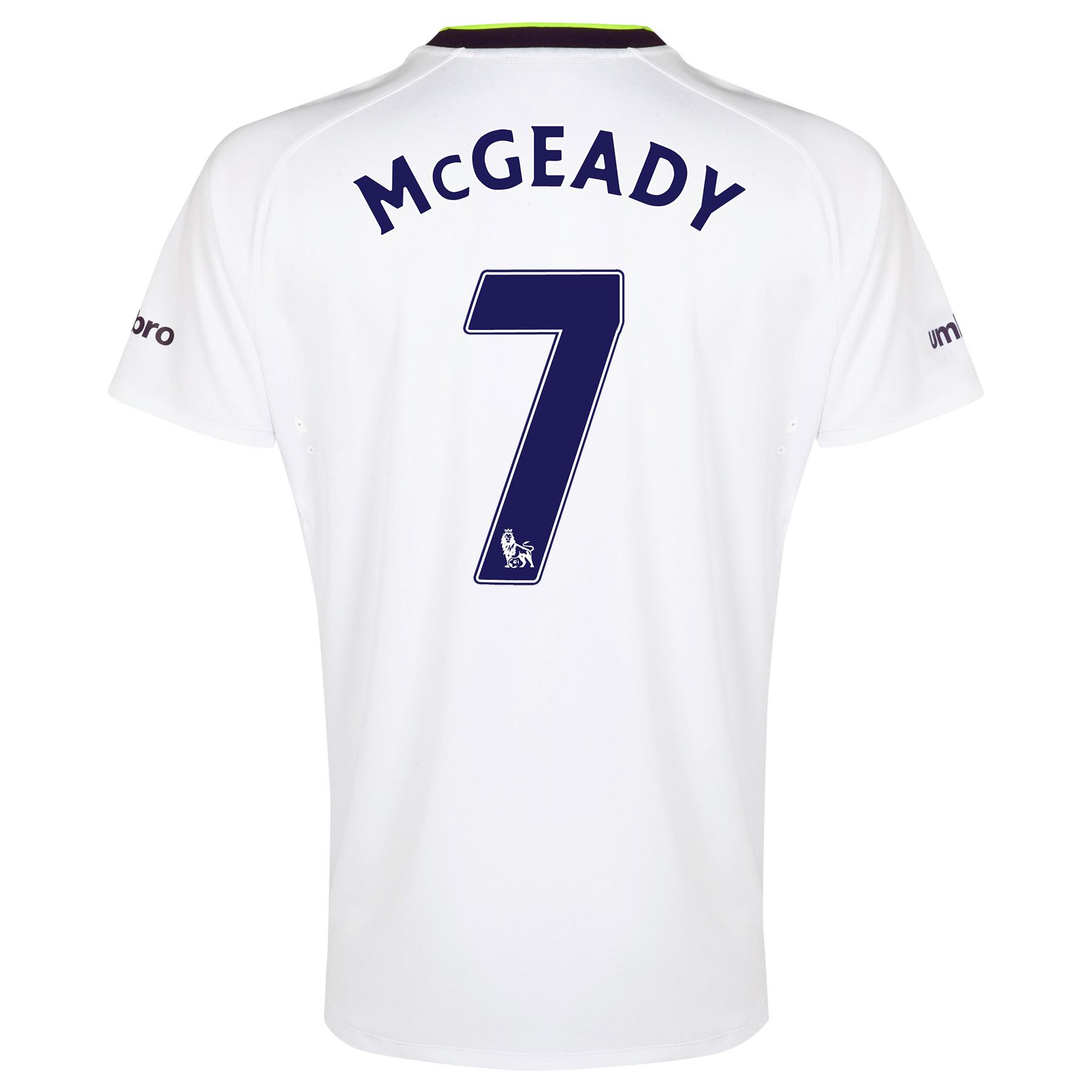 Everton SS 3rd Shirt  2014/15 with McGeady 7 printing