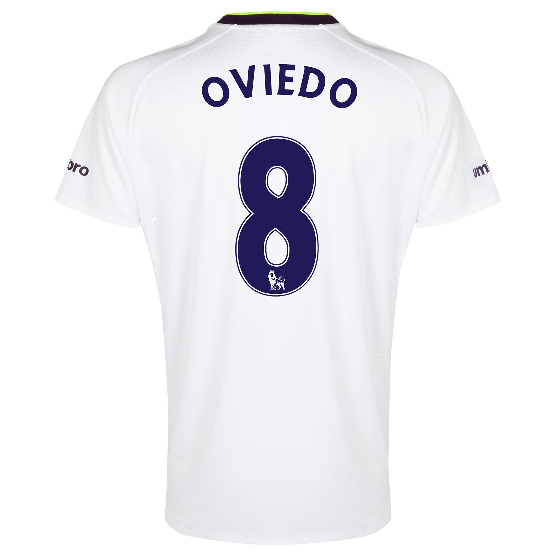 Everton SS 3rd Shirt  2014/15 with Oviedo 8 printing