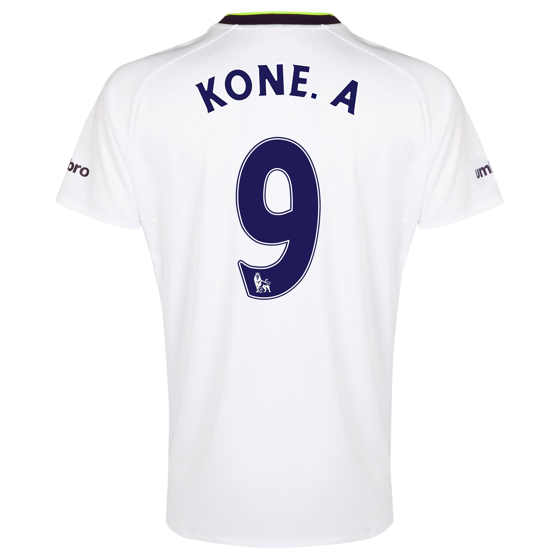 Everton SS 3rd Shirt  2014/15 with Kone.A 9 printing