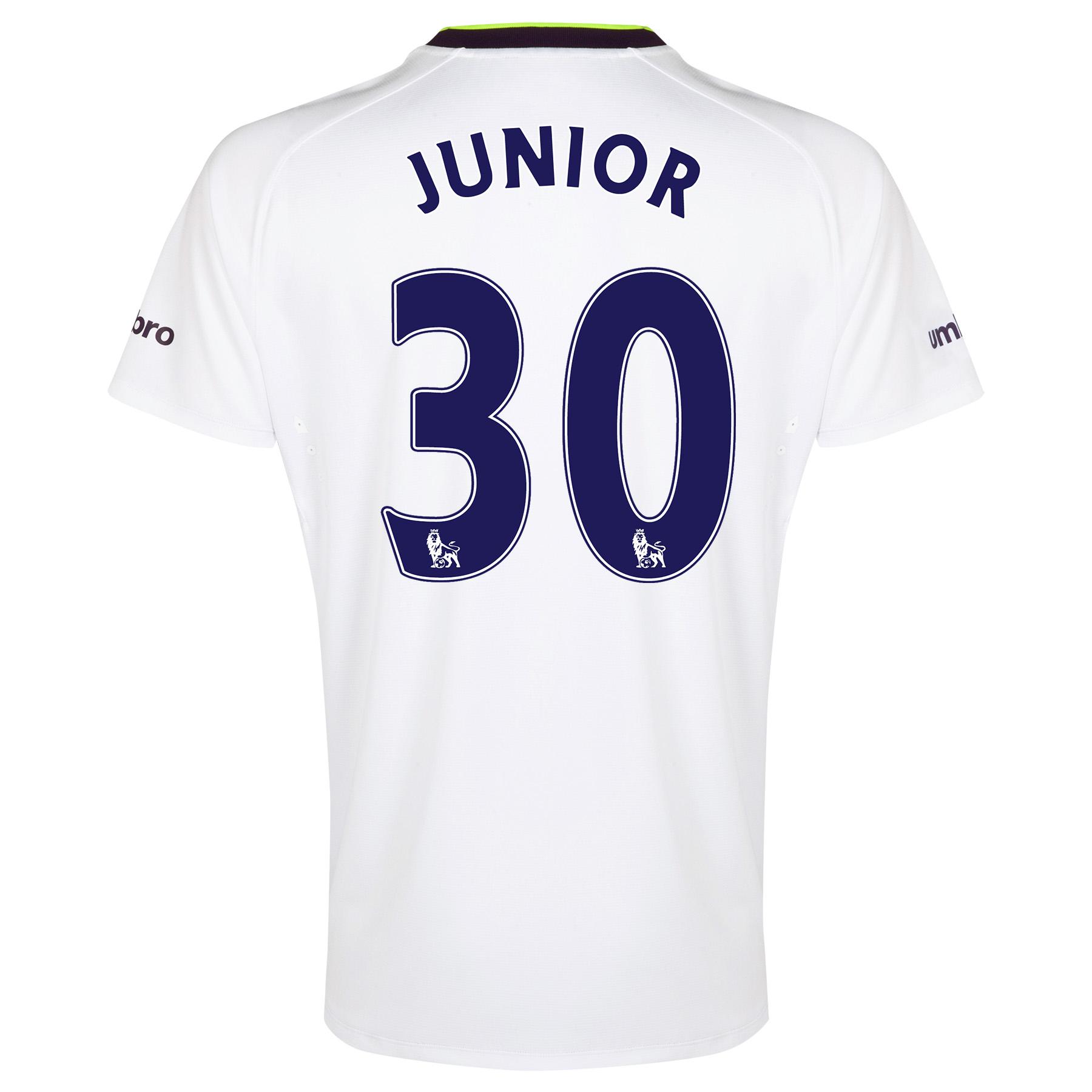 Everton SS 3rd Shirt  2014/15 with Junior 30 printing