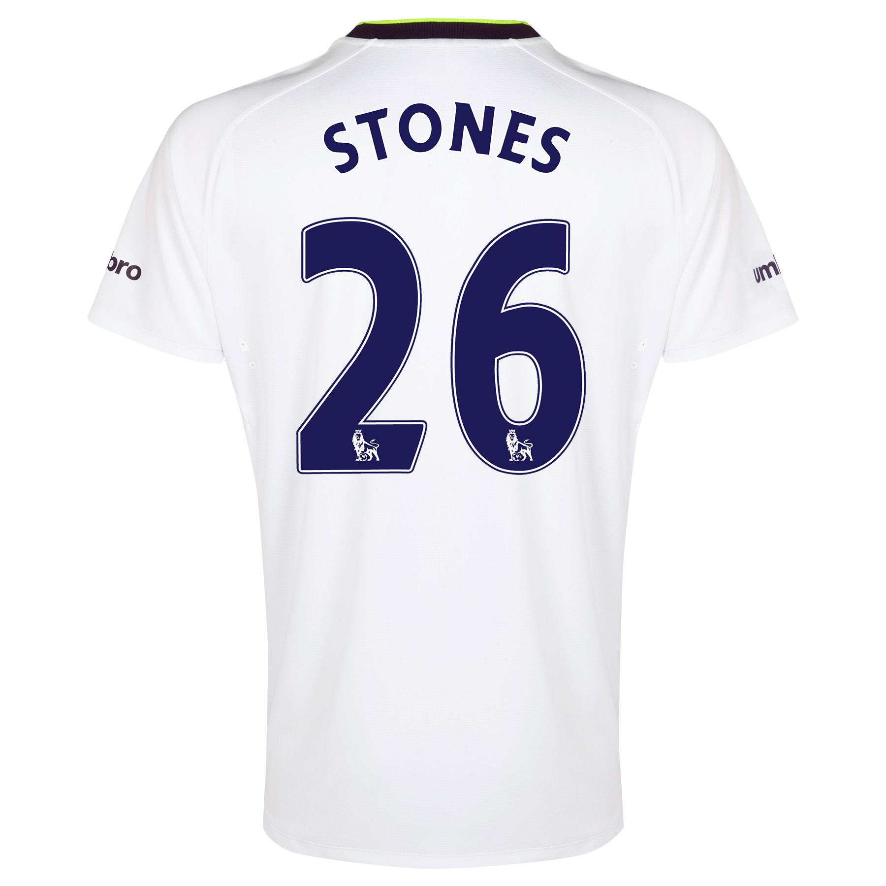 Everton SS 3rd Shirt 2014/15 - Junior with Stones 26 printing