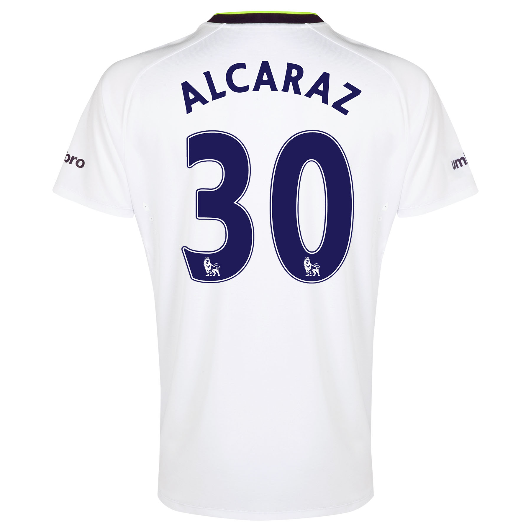 Everton SS 3rd Shirt 2014/15 - Junior with Alcaraz 32 printing