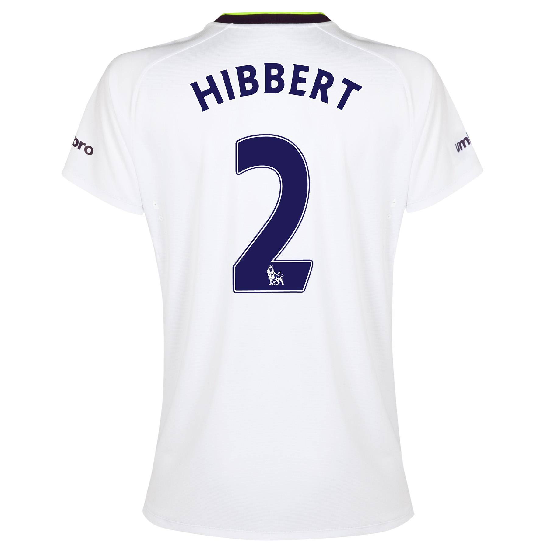Everton SS 3rd Shirt 2014/15- Womens with Hibbert 2 printing