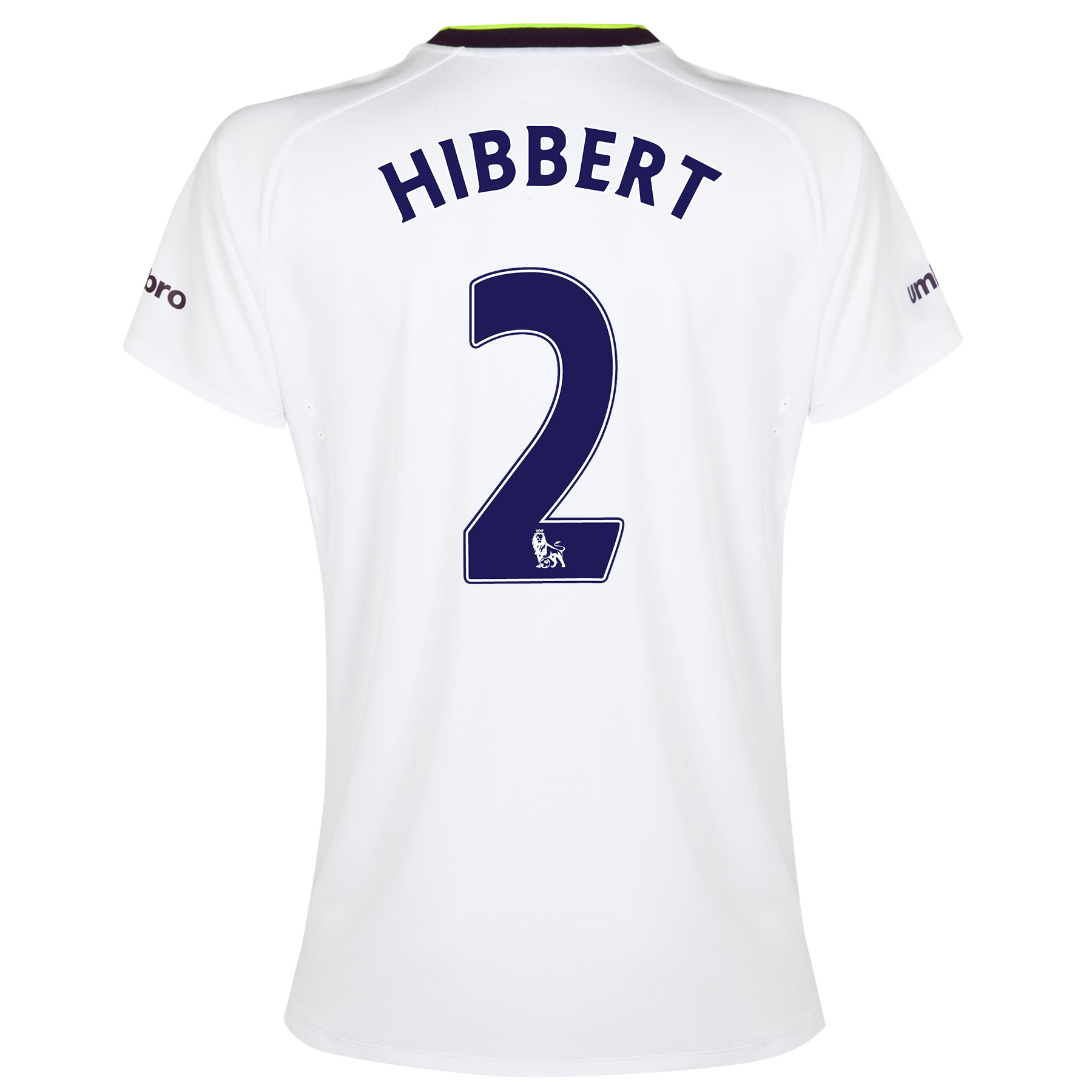 Everton SS 3rd Shirt 2014/15- Womens with Hibbert 2 printing