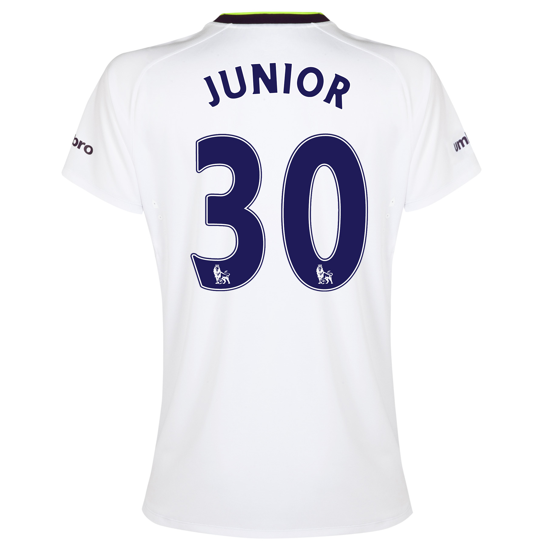 Everton SS 3rd Shirt 2014/15- Womens with Junior 30 printing