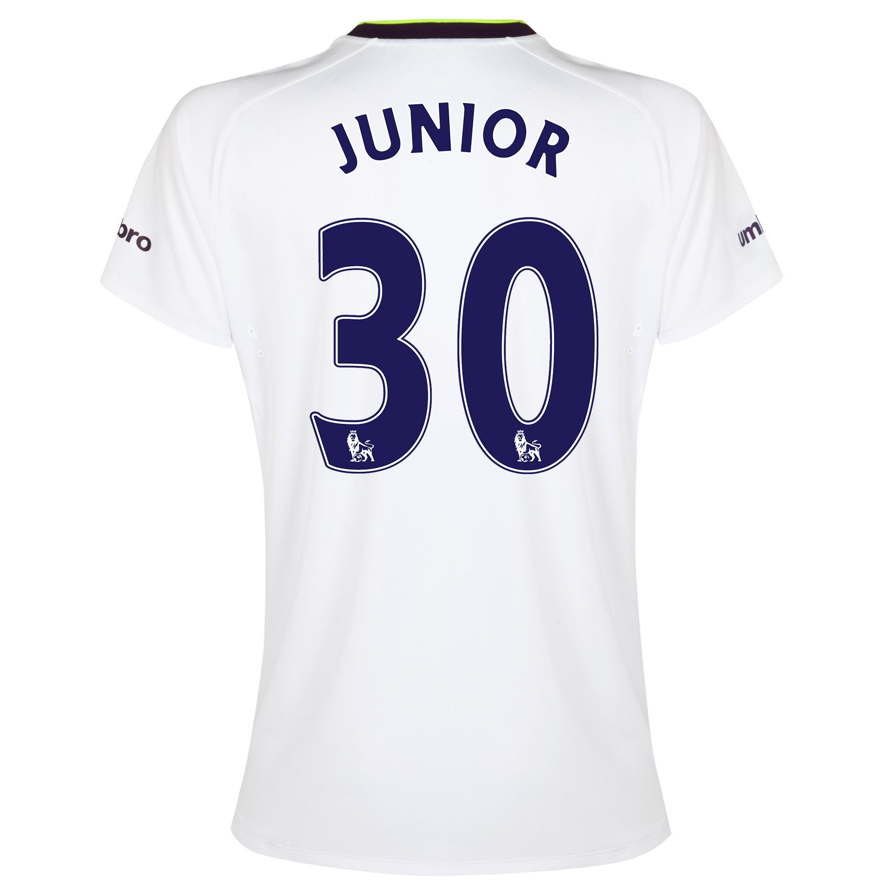 Everton SS 3rd Shirt 2014/15- Womens with Junior 30 printing