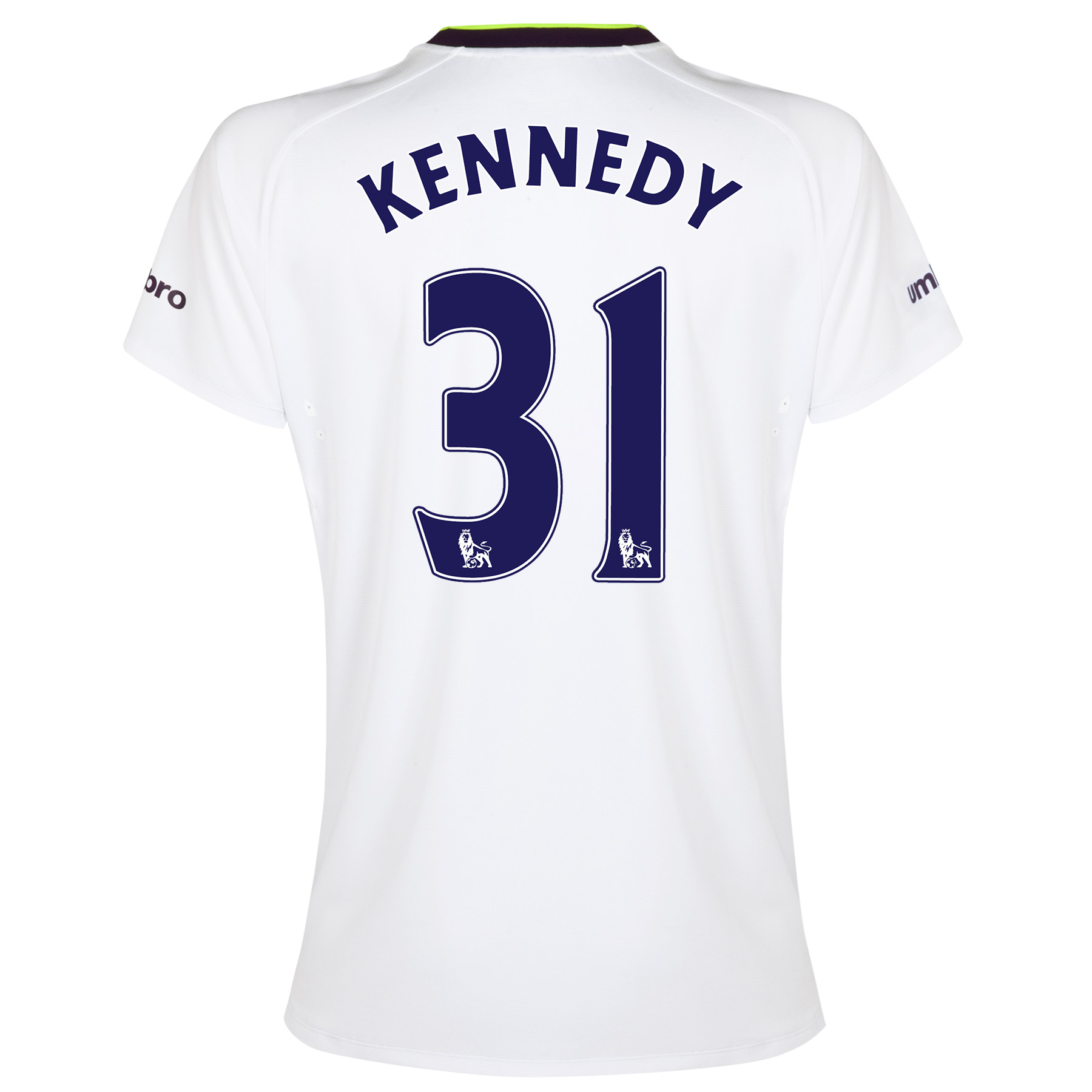 Everton SS 3rd Shirt 2014/15- Womens with Kennedy 31 printing