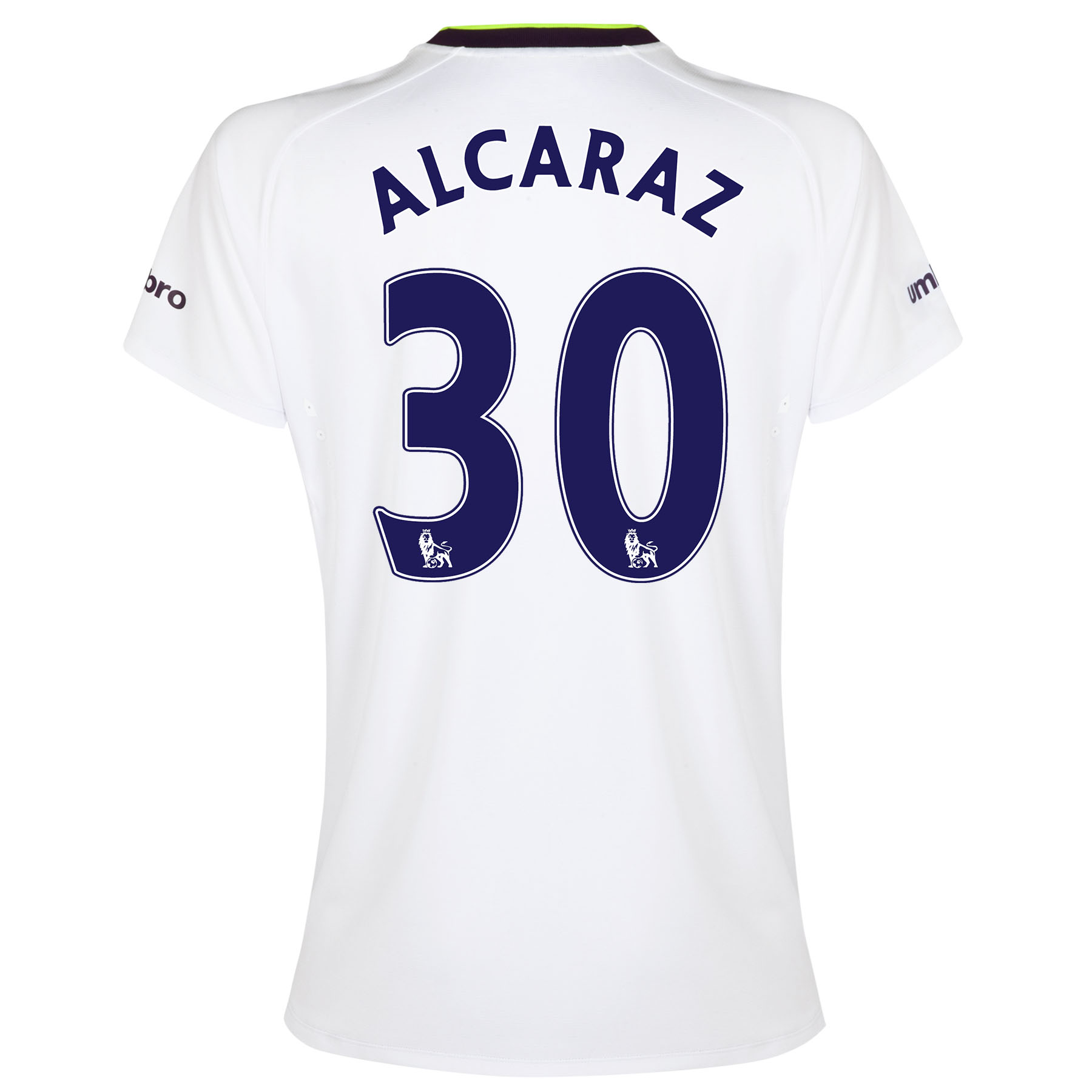 Everton SS 3rd Shirt 2014/15- Womens with Alcaraz 32 printing