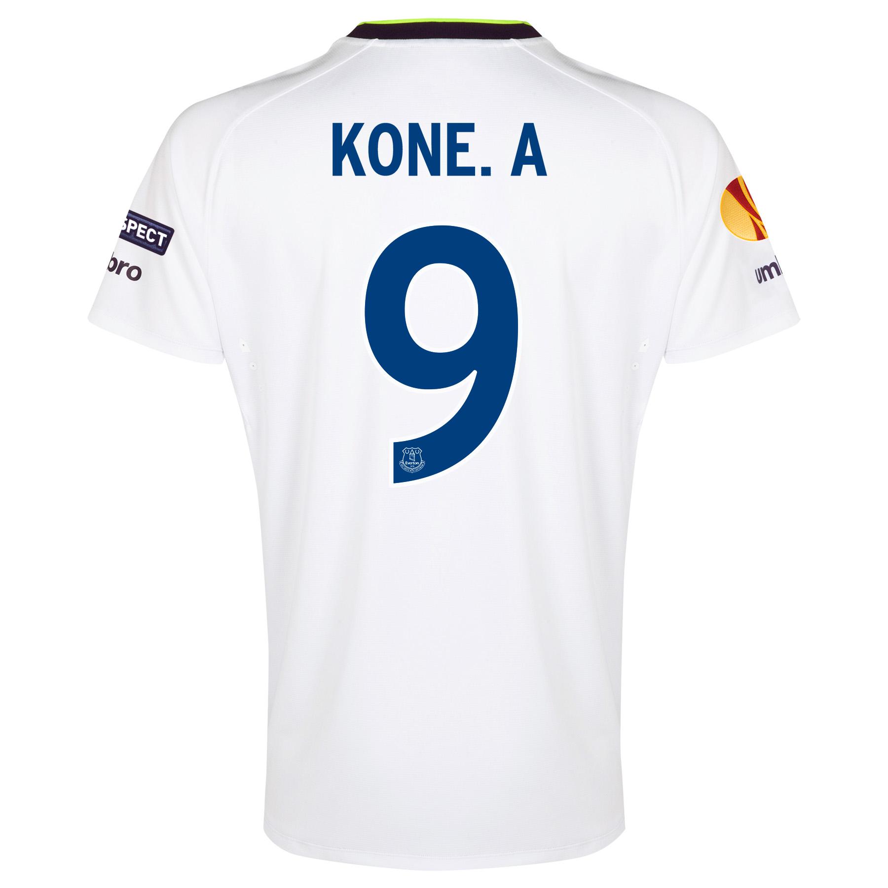 Everton UEFA Europa League 3rd Shirt 2014/15 with Kone.A 9 printing