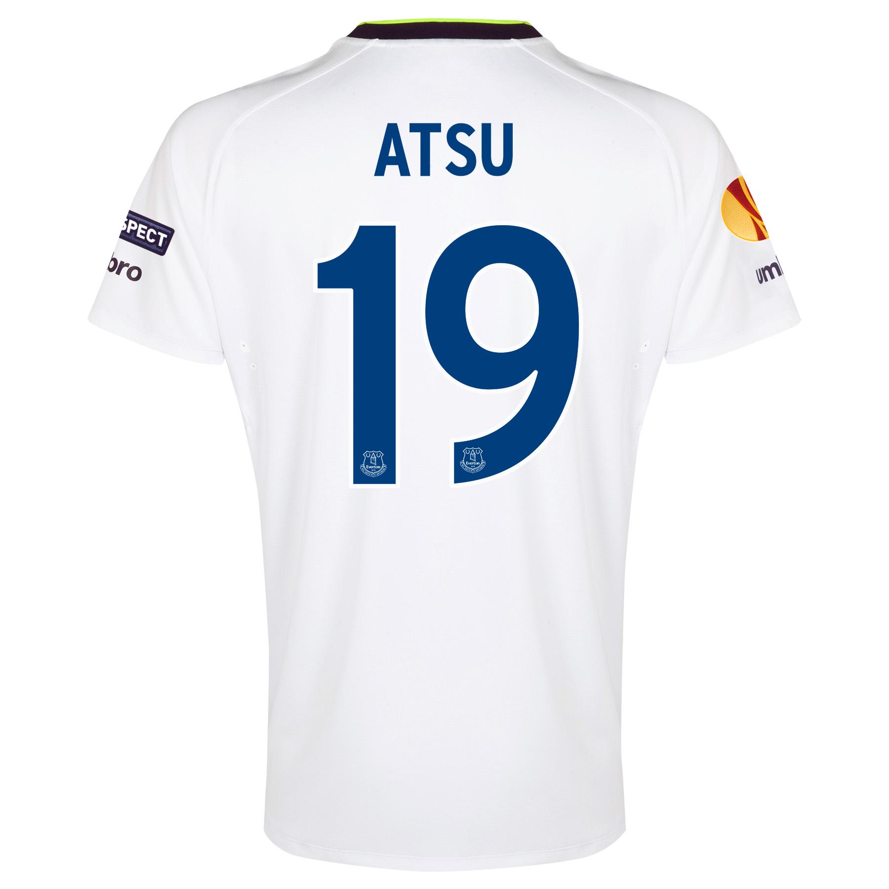 Everton UEFA Europa League 3rd Shirt 2014/15 with Atsu 19 printing