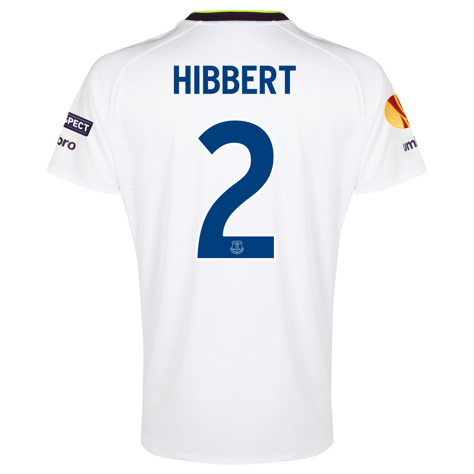 Everton UEFA Europa League 3rd Shirt 2014/15 - Junior with Hibbert 2 printing