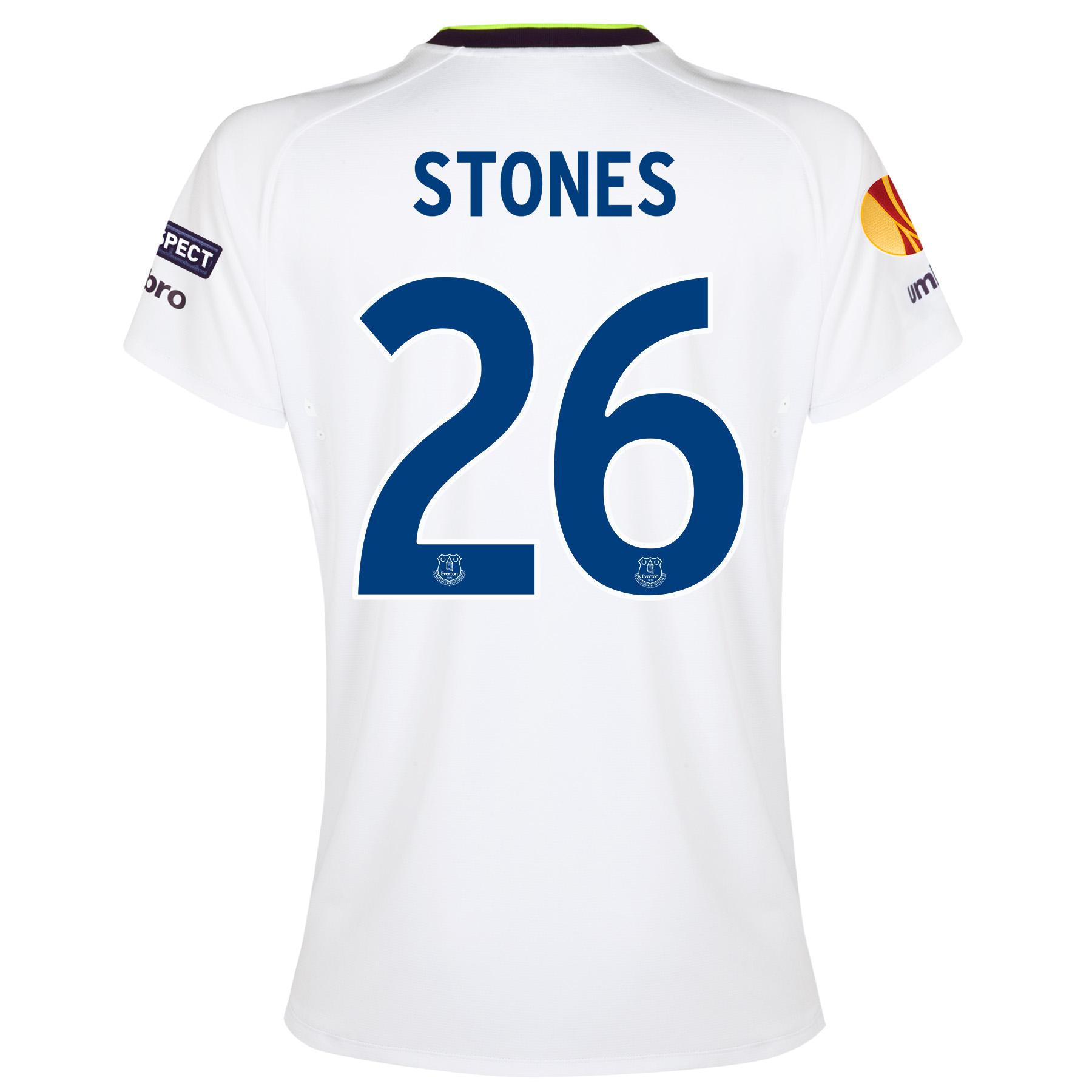 Everton UEFA Europa League 3rd Shirt 2014/15 - Womens with Stones 26 p