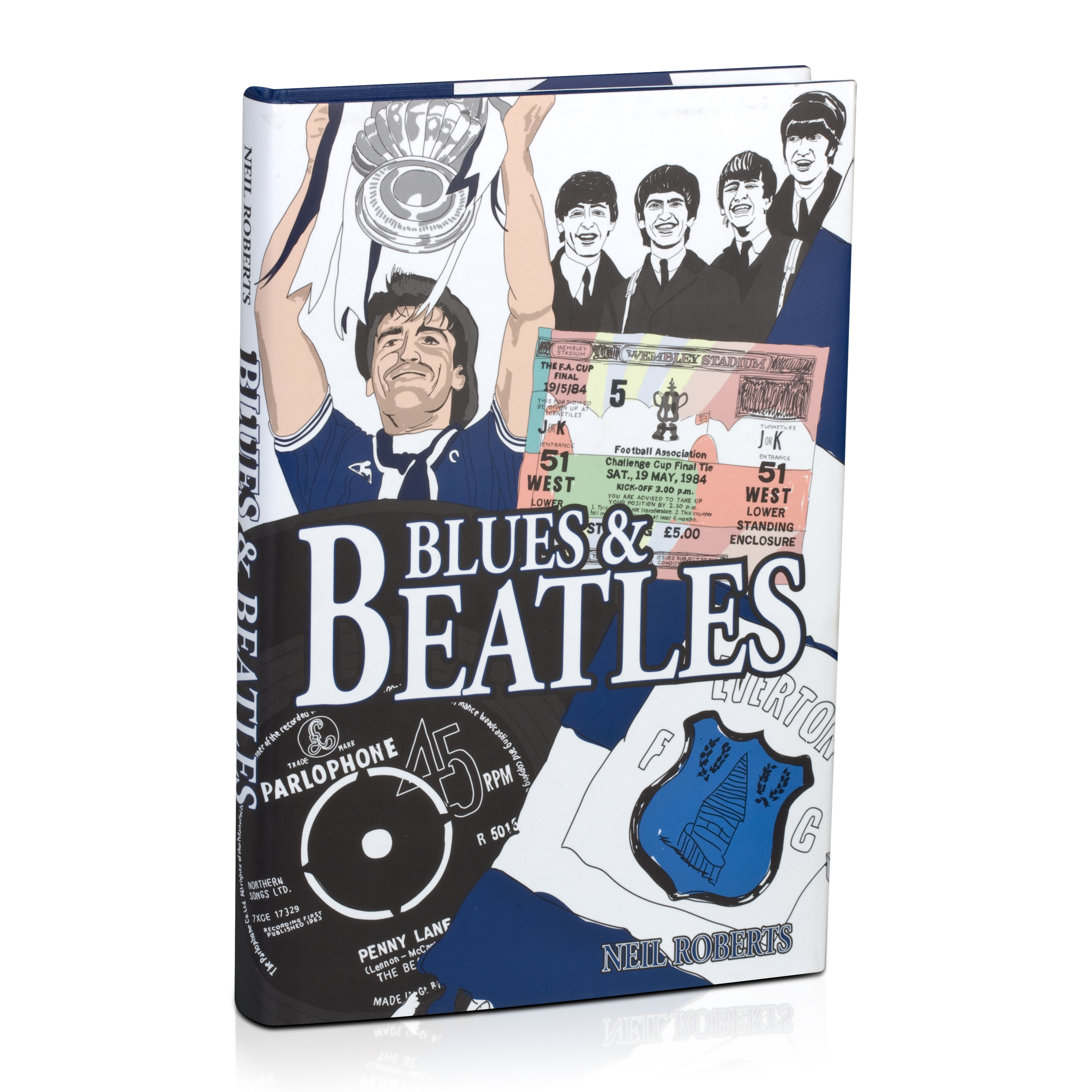 Everton Blues and Beatles Book