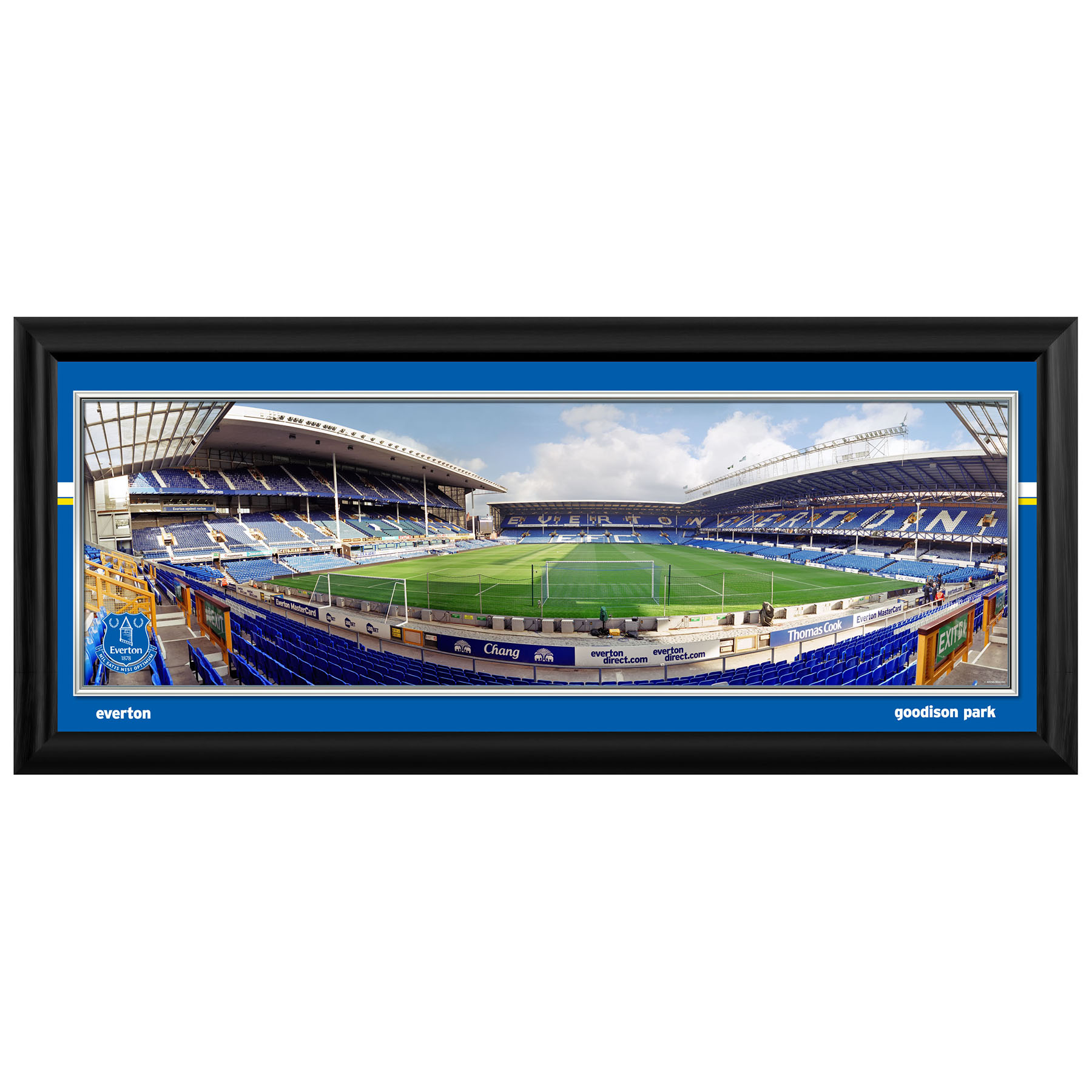 Everton 30 inch Empty Stadium Panoramic