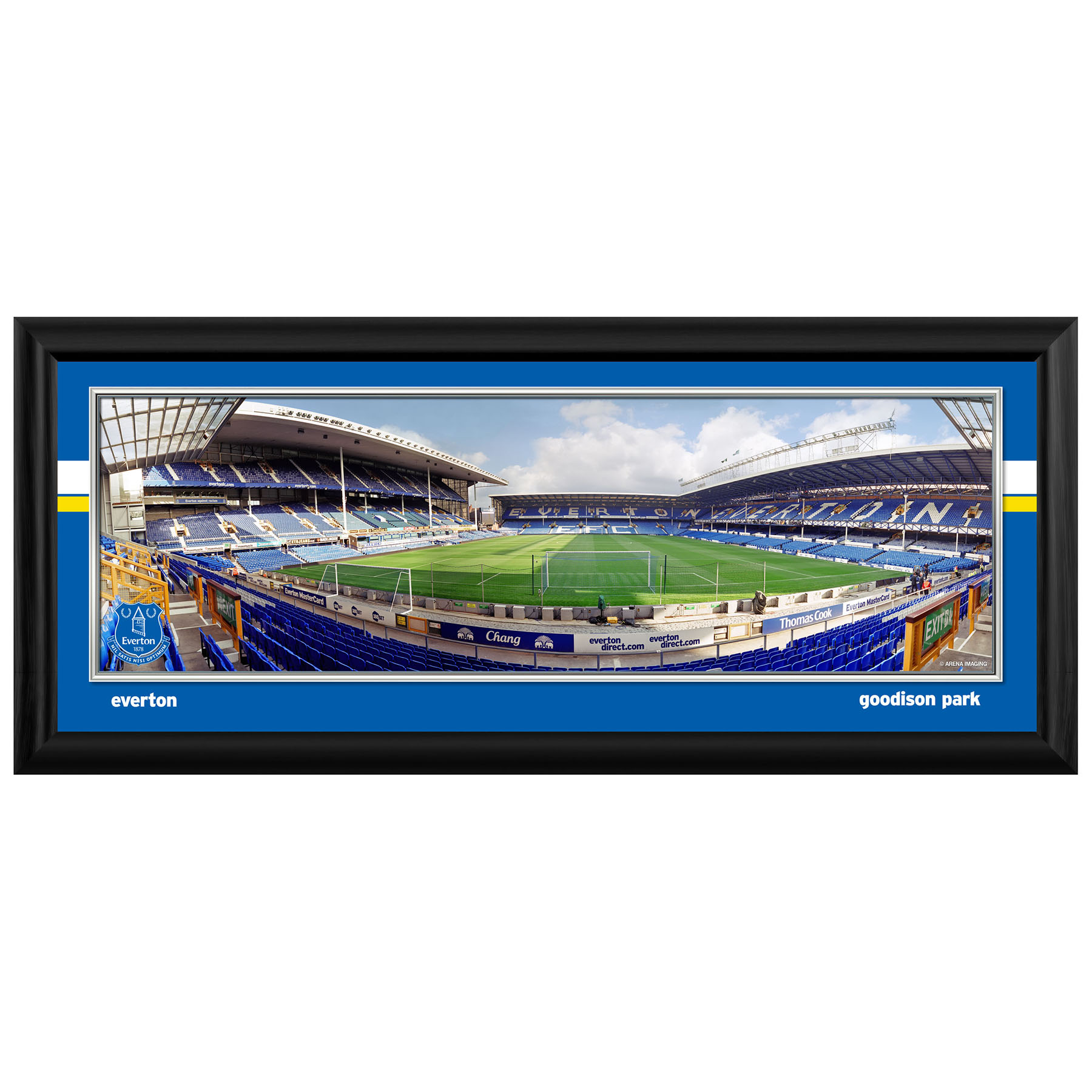 Everton Desktop Empty Stadium Panoramic