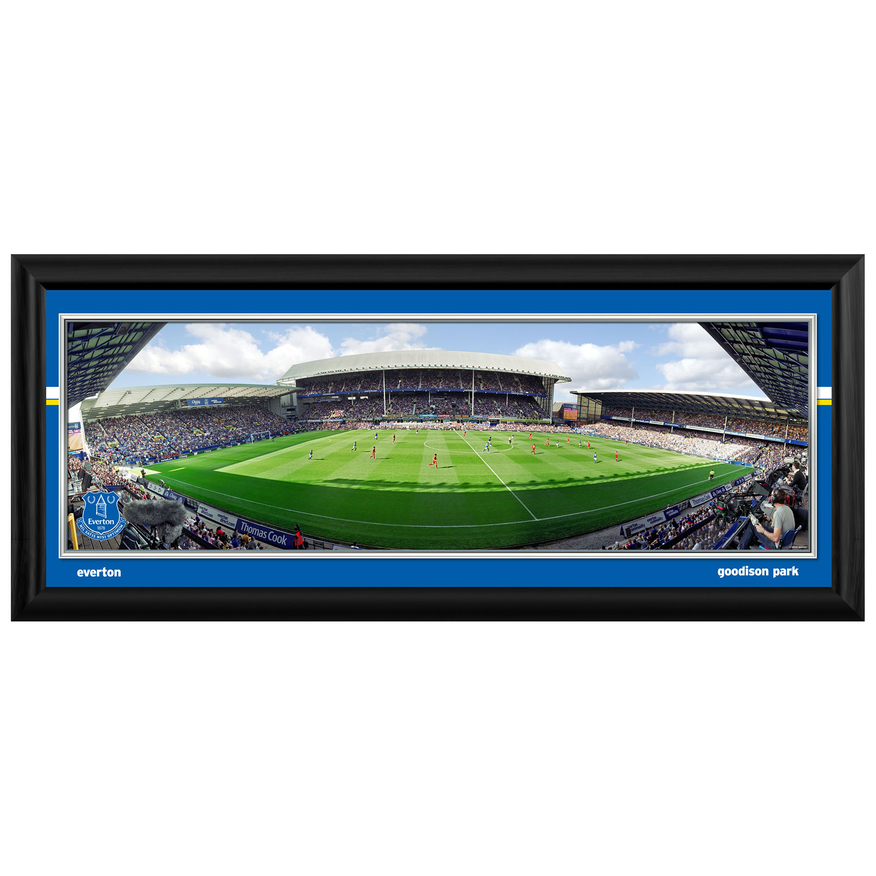 Everton 30 inch Matchday Stadium Panoramic