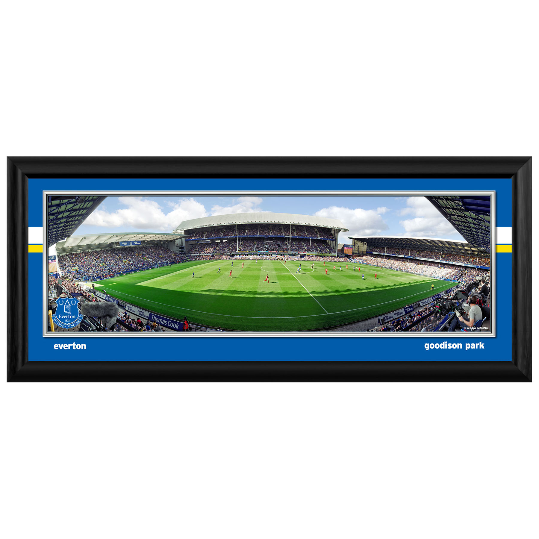 Everton Desktop Matchday Stadium Panoramic
