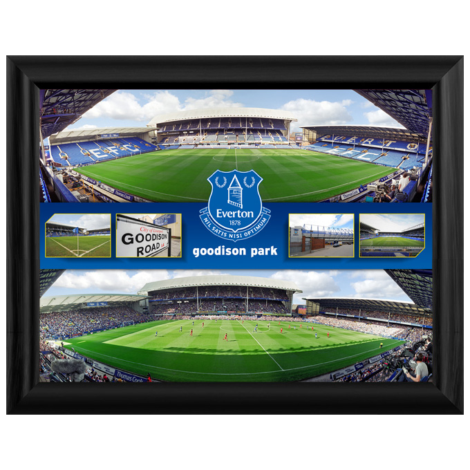 Everton Stadium Panoramic Montage 8 X 6