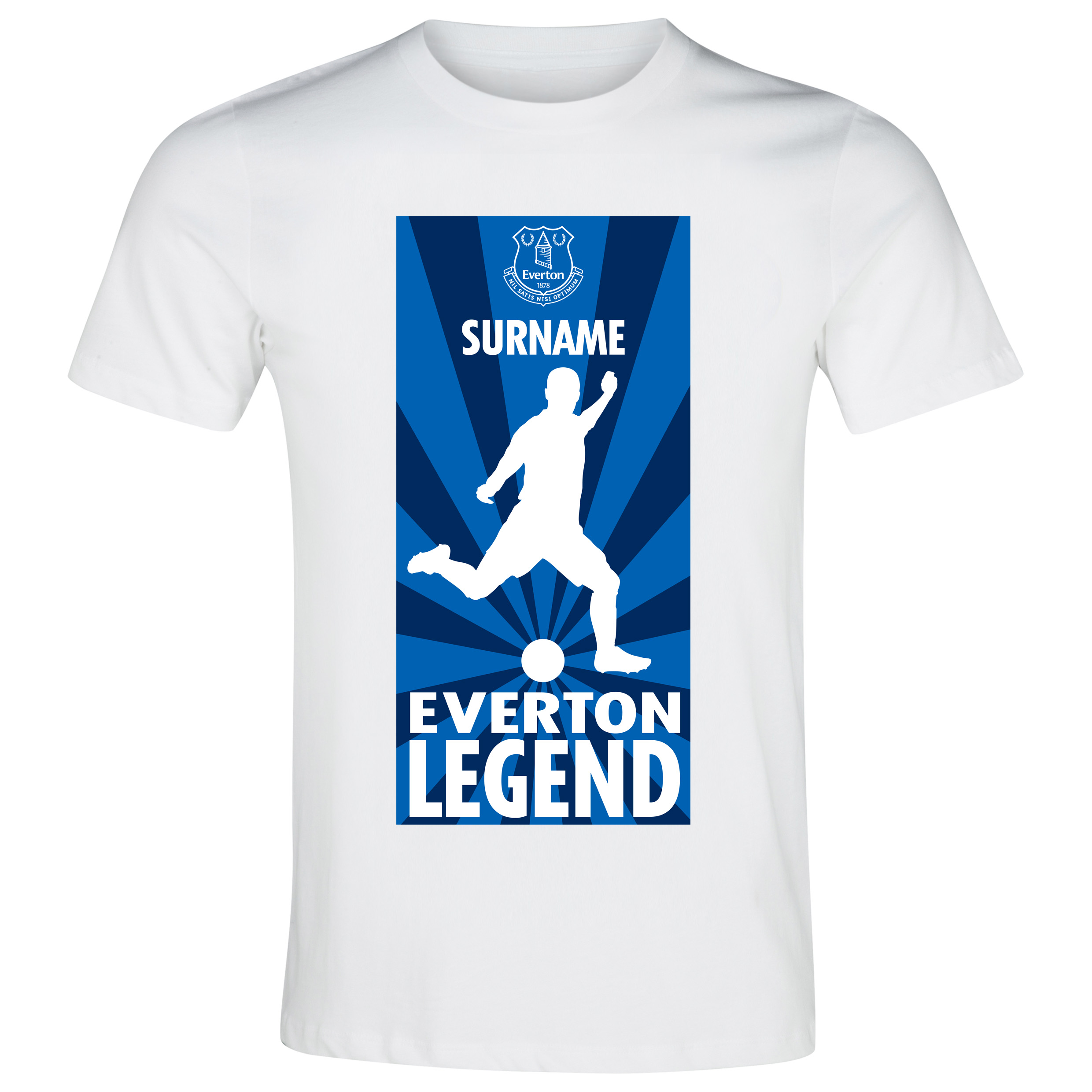 Everton Personalised Legend T-Shirt