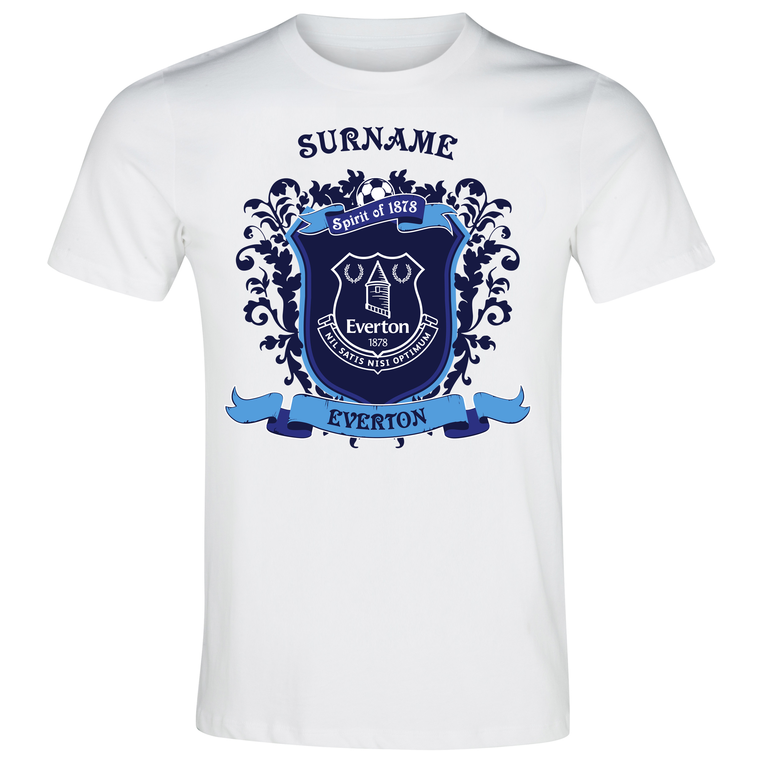 Everton Personalised Spirit of T-Shirt