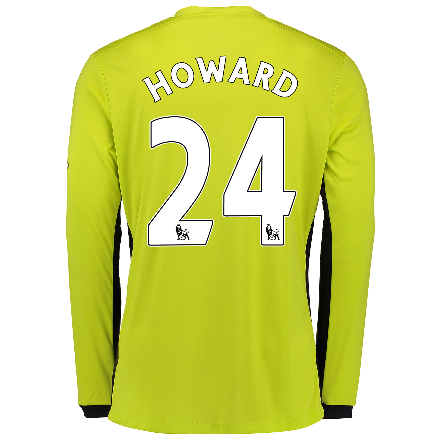 Everton Goalkeeper Home Shirt 2016/17 with Howard 24 printing