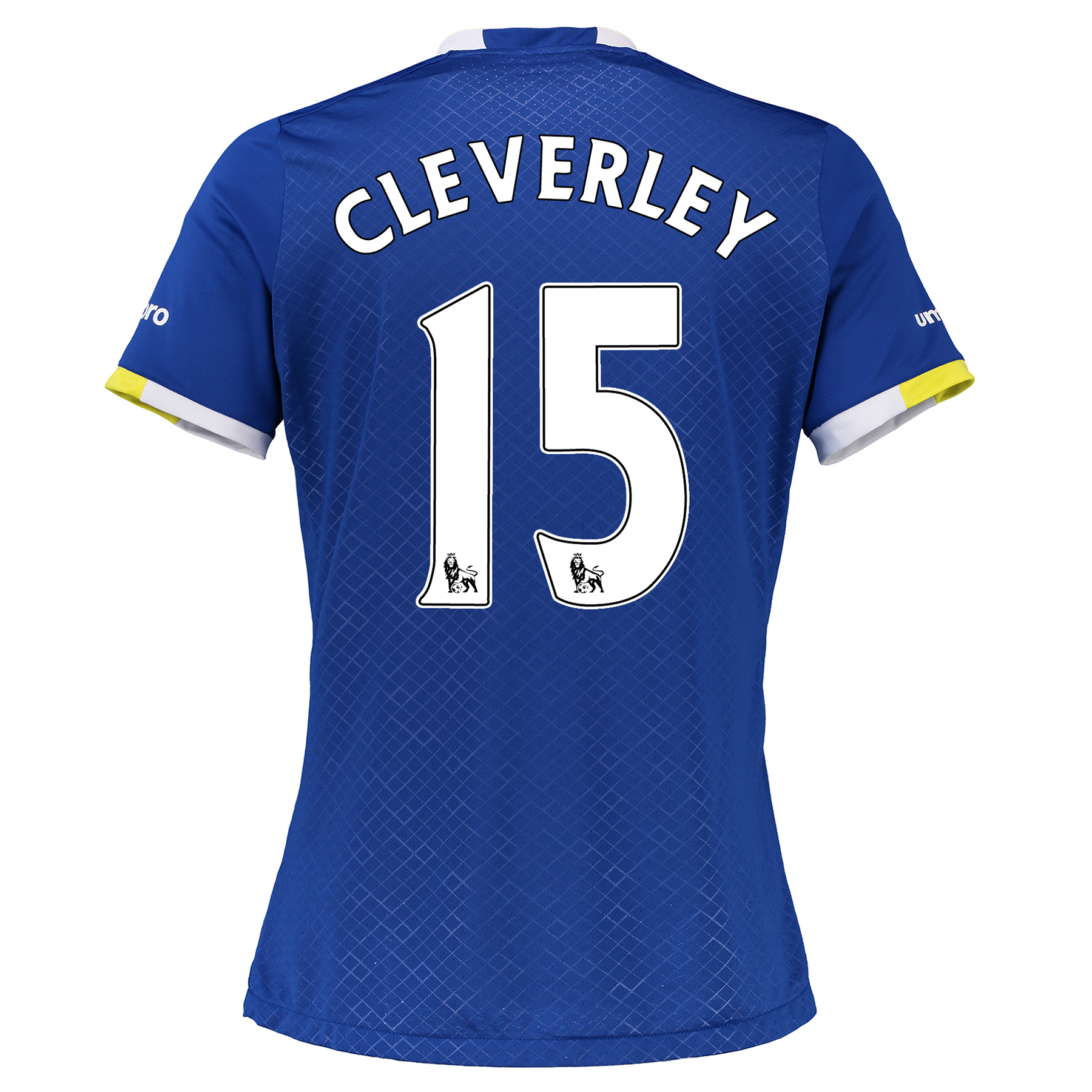 Everton Home Shirt 2016/17 - Womens with Cleverley 15 printing